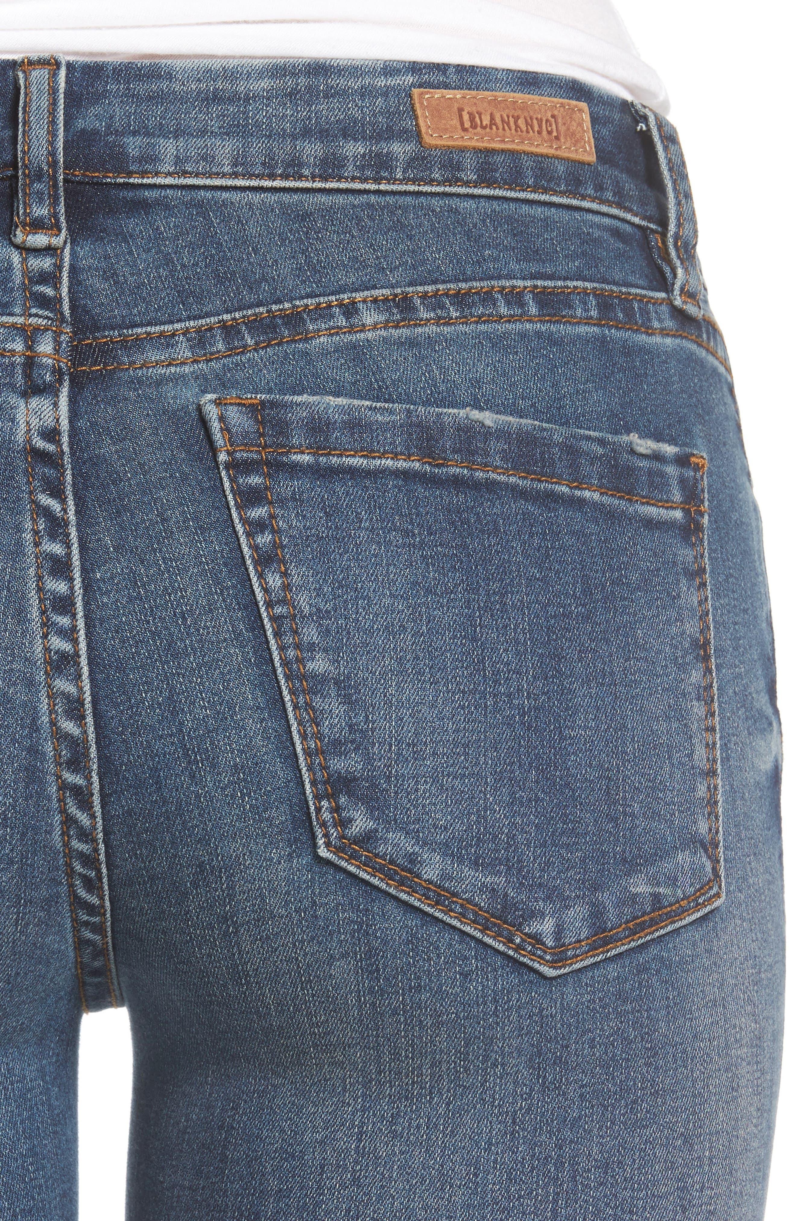 Alternate Image 5  - BLANKNYC Skinny Ankle Jeans