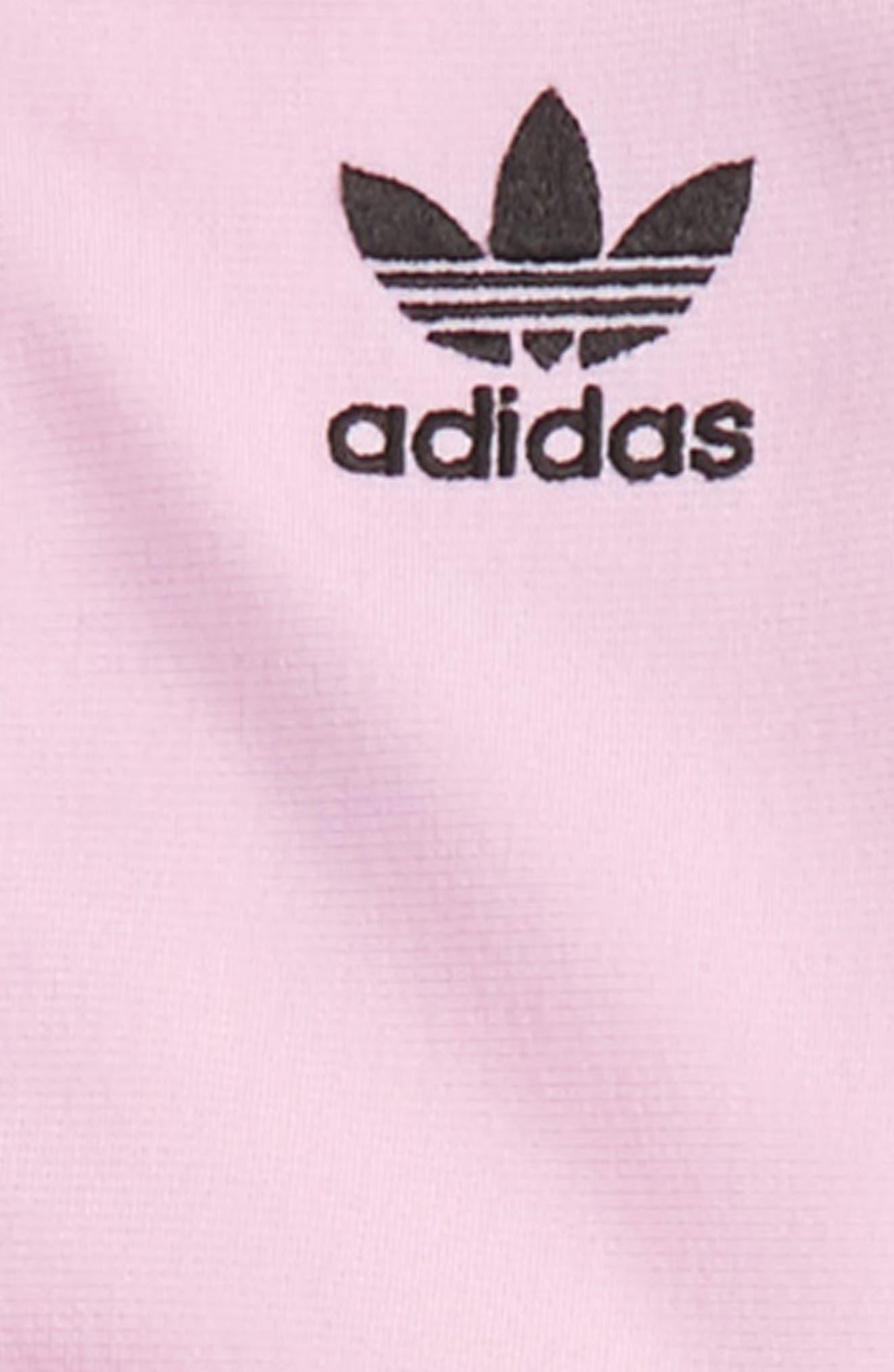 Alternate Image 3  - adidas Originals Track Jacket & Athletic Pants Set (Baby Girls)