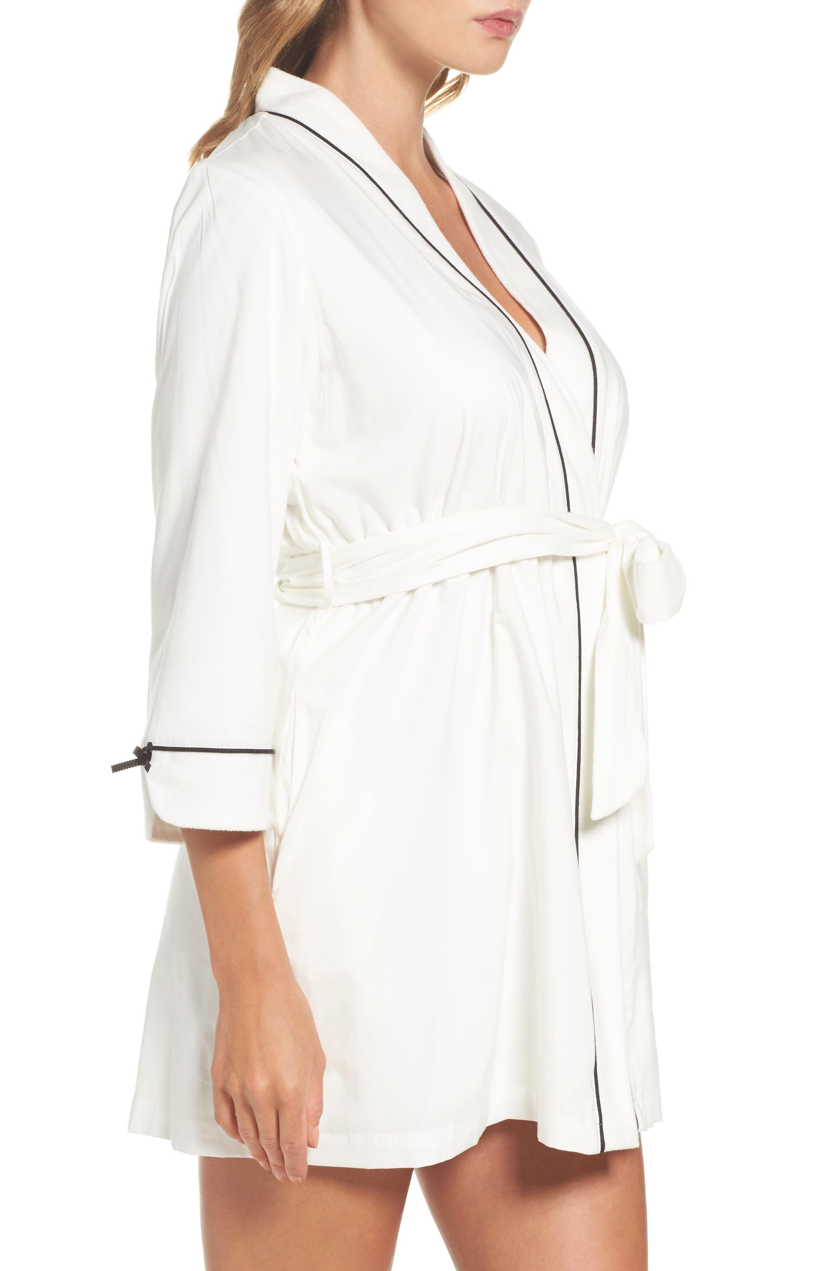 Alternate Image 3  - kate spade new york short robe