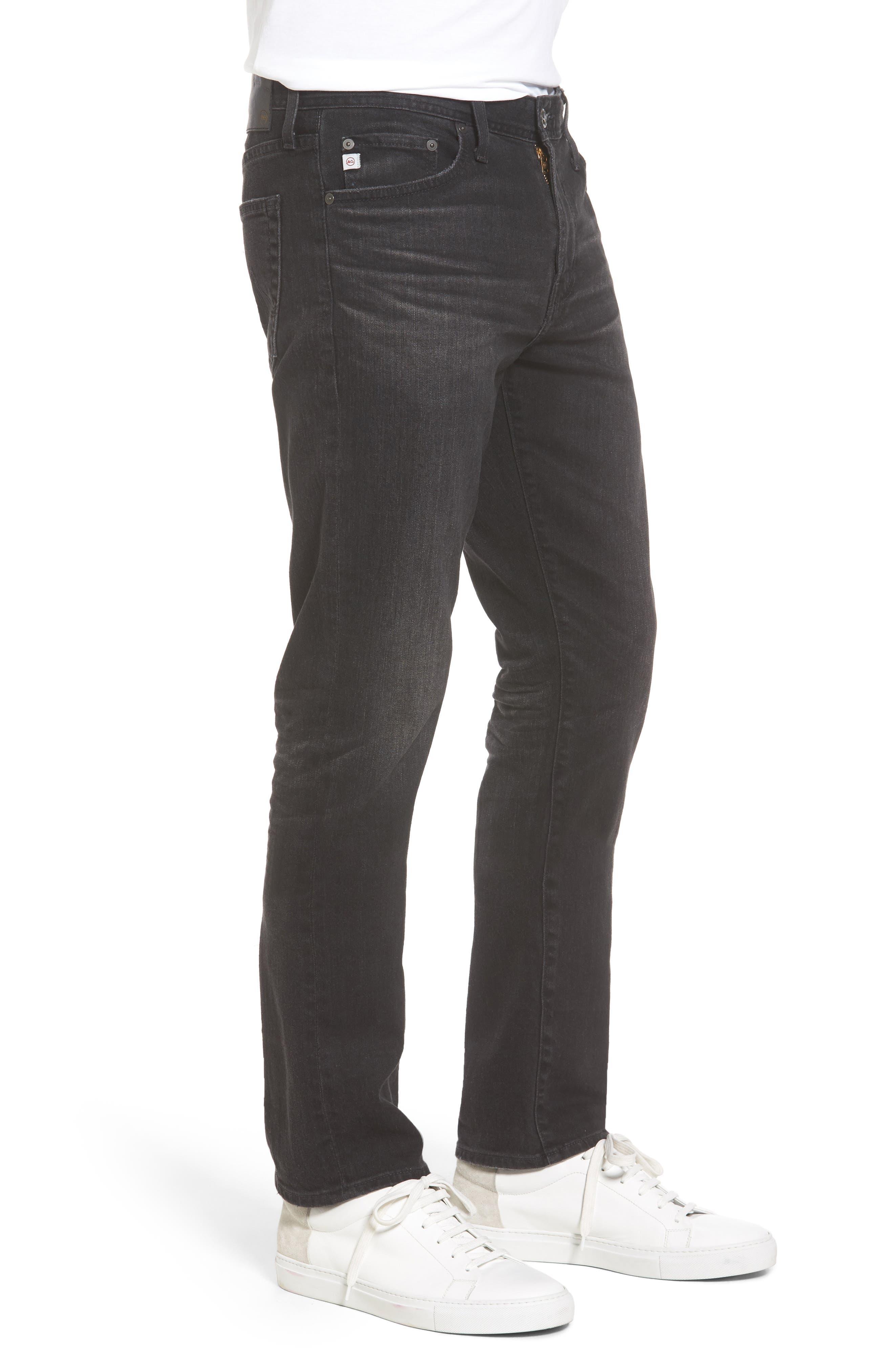 Everett Slim Straight Leg Jeans,                             Alternate thumbnail 4, color,                             4 Years Down