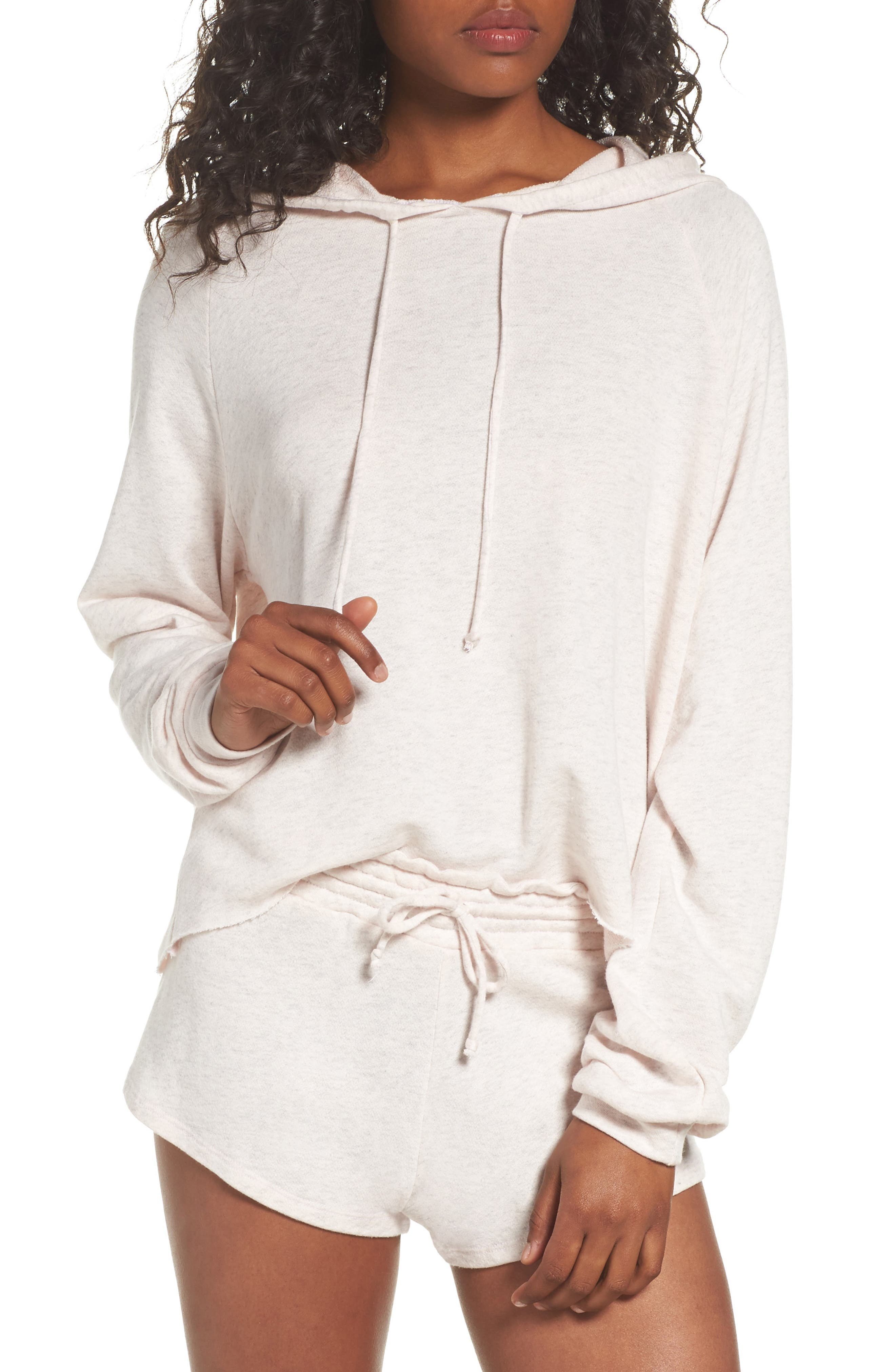 Copper Pullover Hoodie,                         Main,                         color, Pink