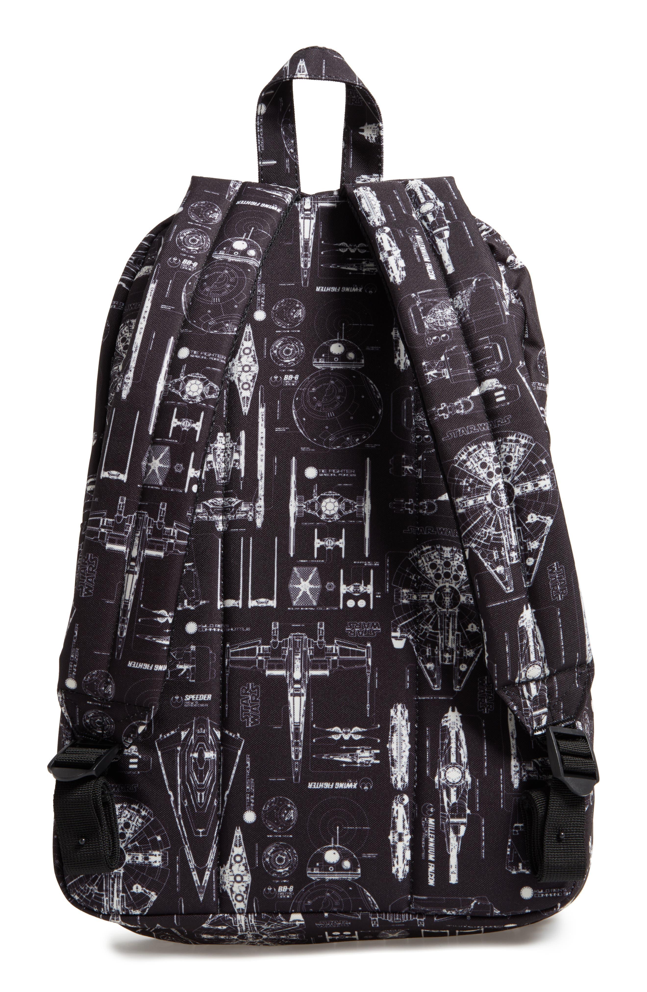 Star Wars<sup>™</sup> The Force Awakens Blueprint Backpack,                             Alternate thumbnail 2, color,                             Black