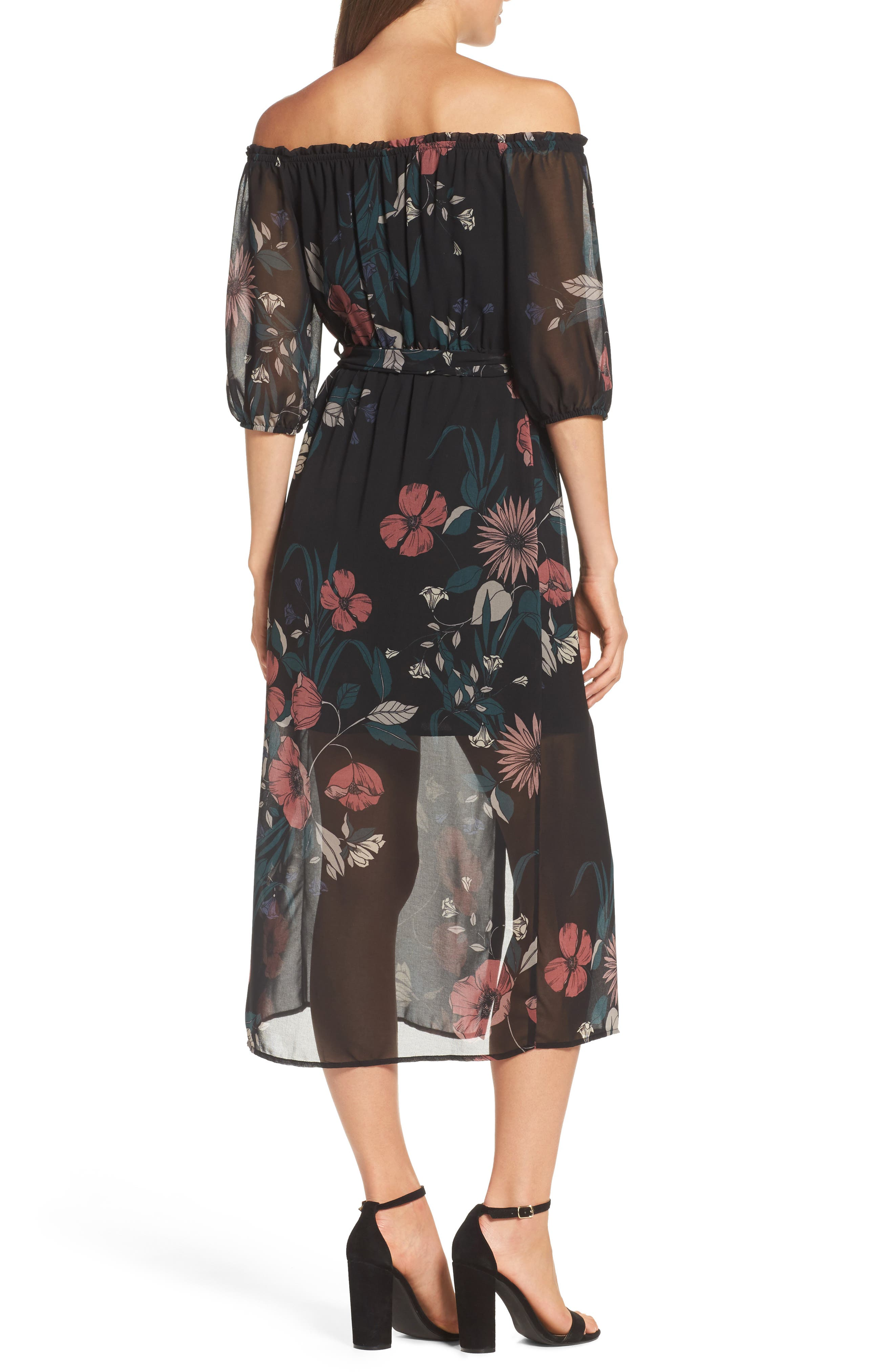 Alternate Image 2  - Bardot Camilla Midi Dress