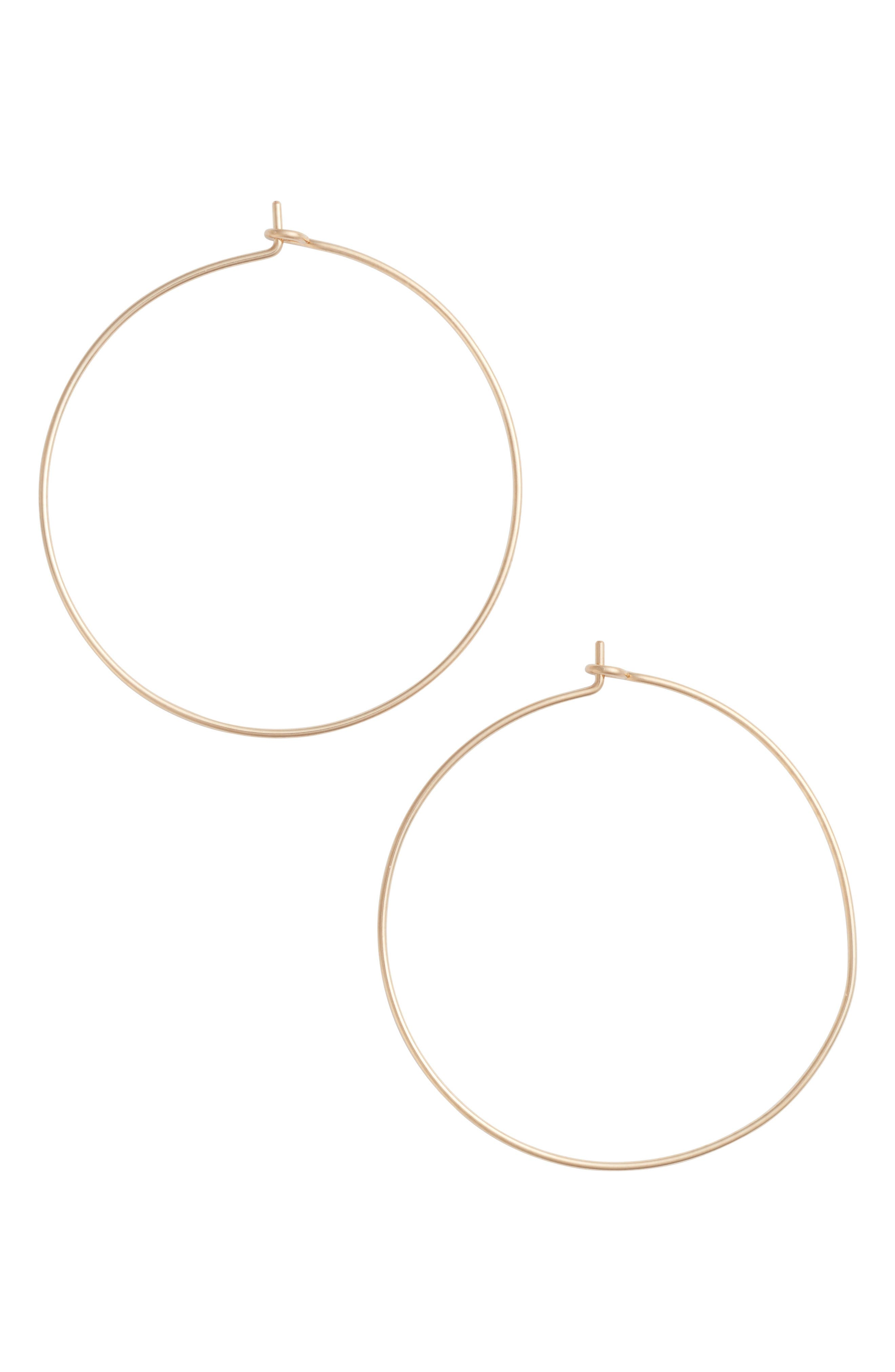 Nashelle Large Pure Hoop Earrings