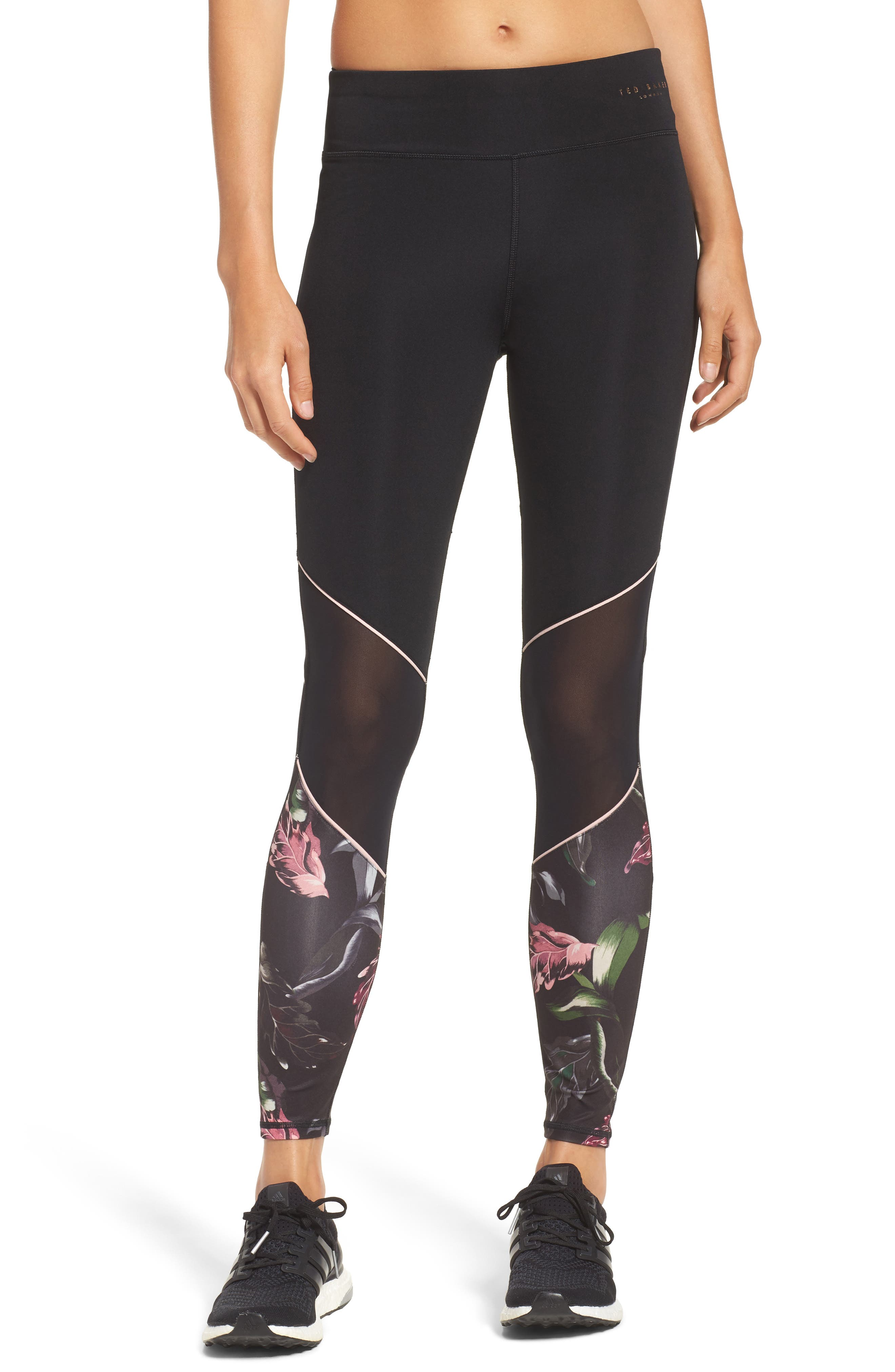 Eden Piped Leggings,                         Main,                         color, Black