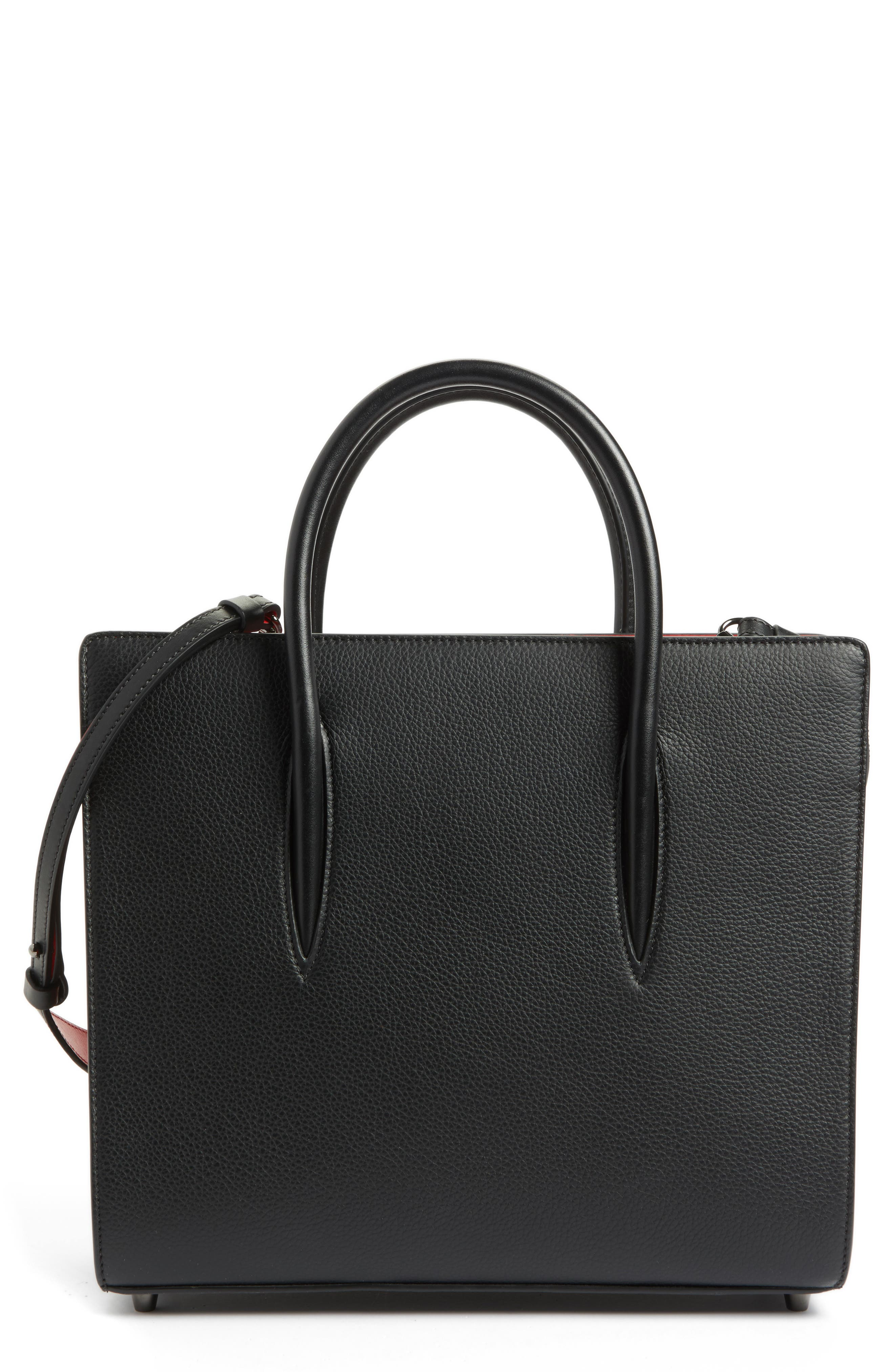 Alternate Image 1 Selected - Christian Louboutin Medium Paloma Leather Tote