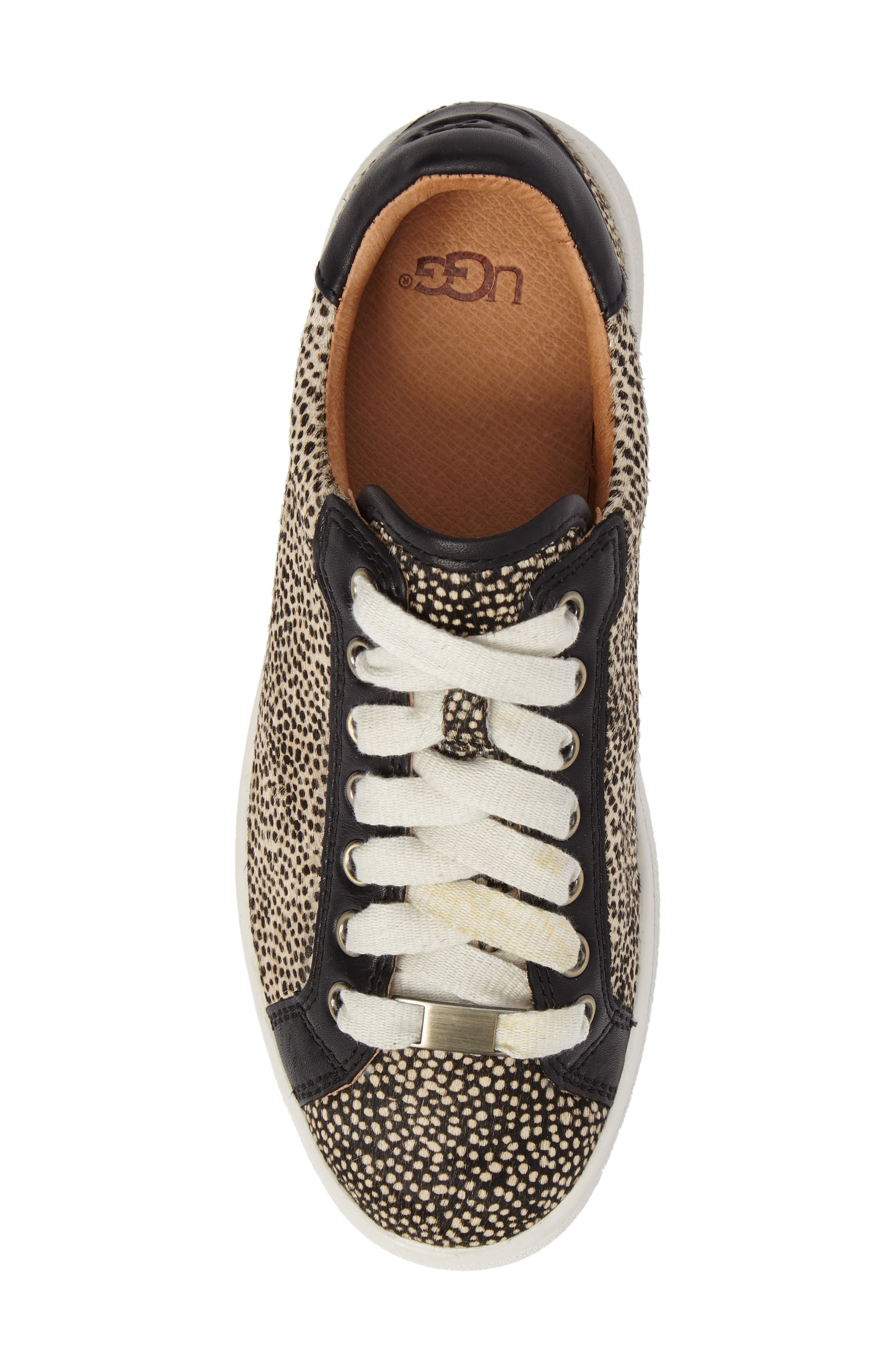 Alternate Image 5  - UGG® Milo Genuine Calf Hair Sneaker (Women)
