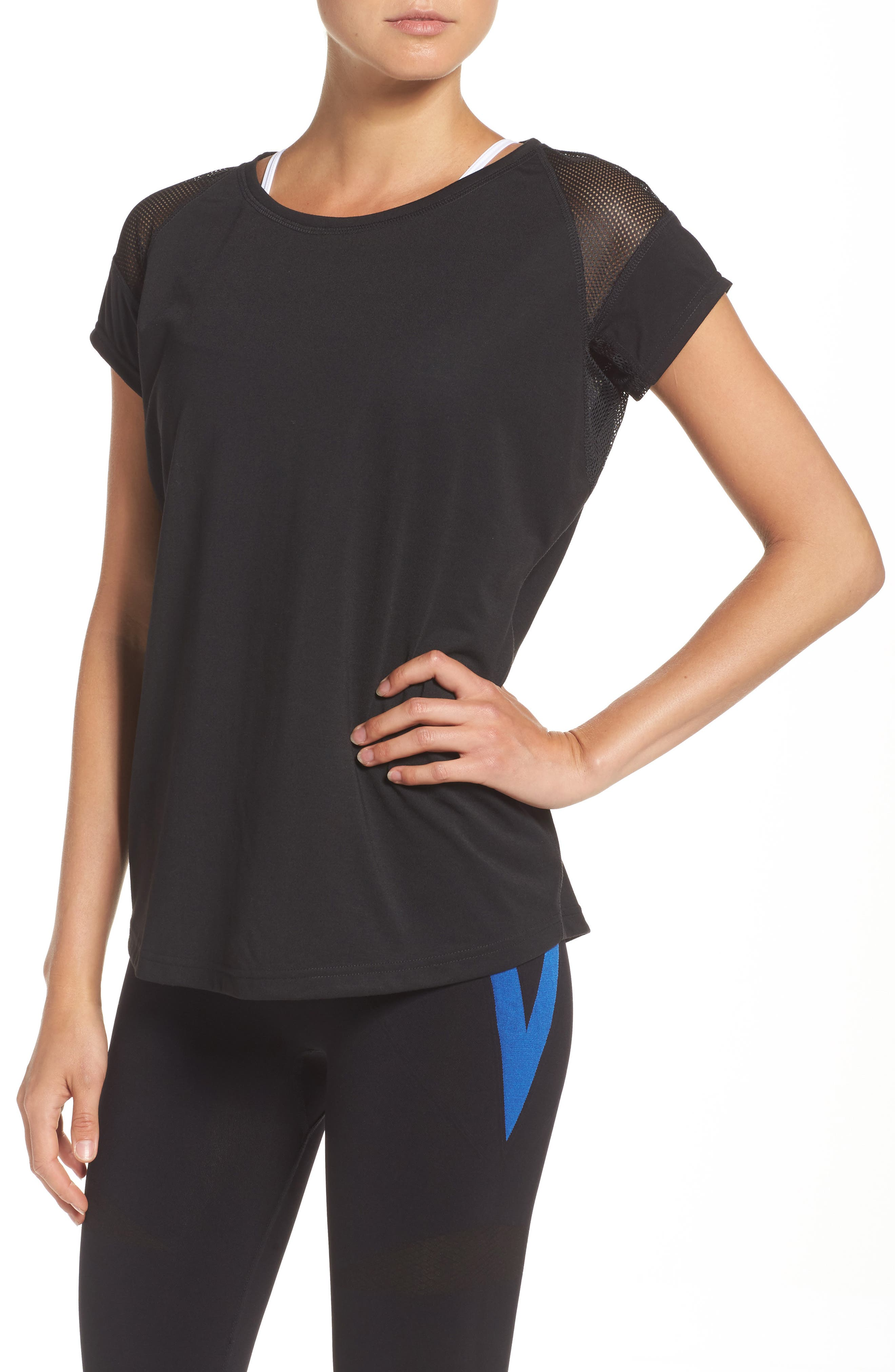 BoomBoom Athletica Sport Perfect Tee,                         Main,                         color, Black