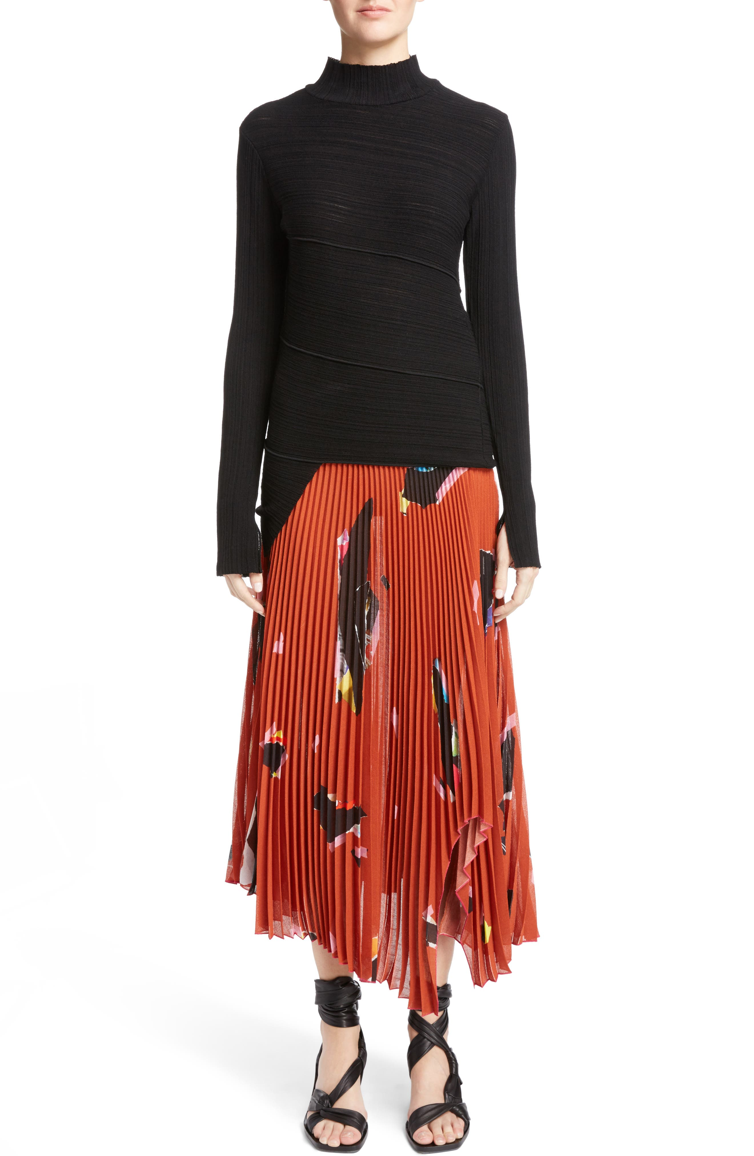 Alternate Image 5  - Proenza Schouler Spiral Knit Top
