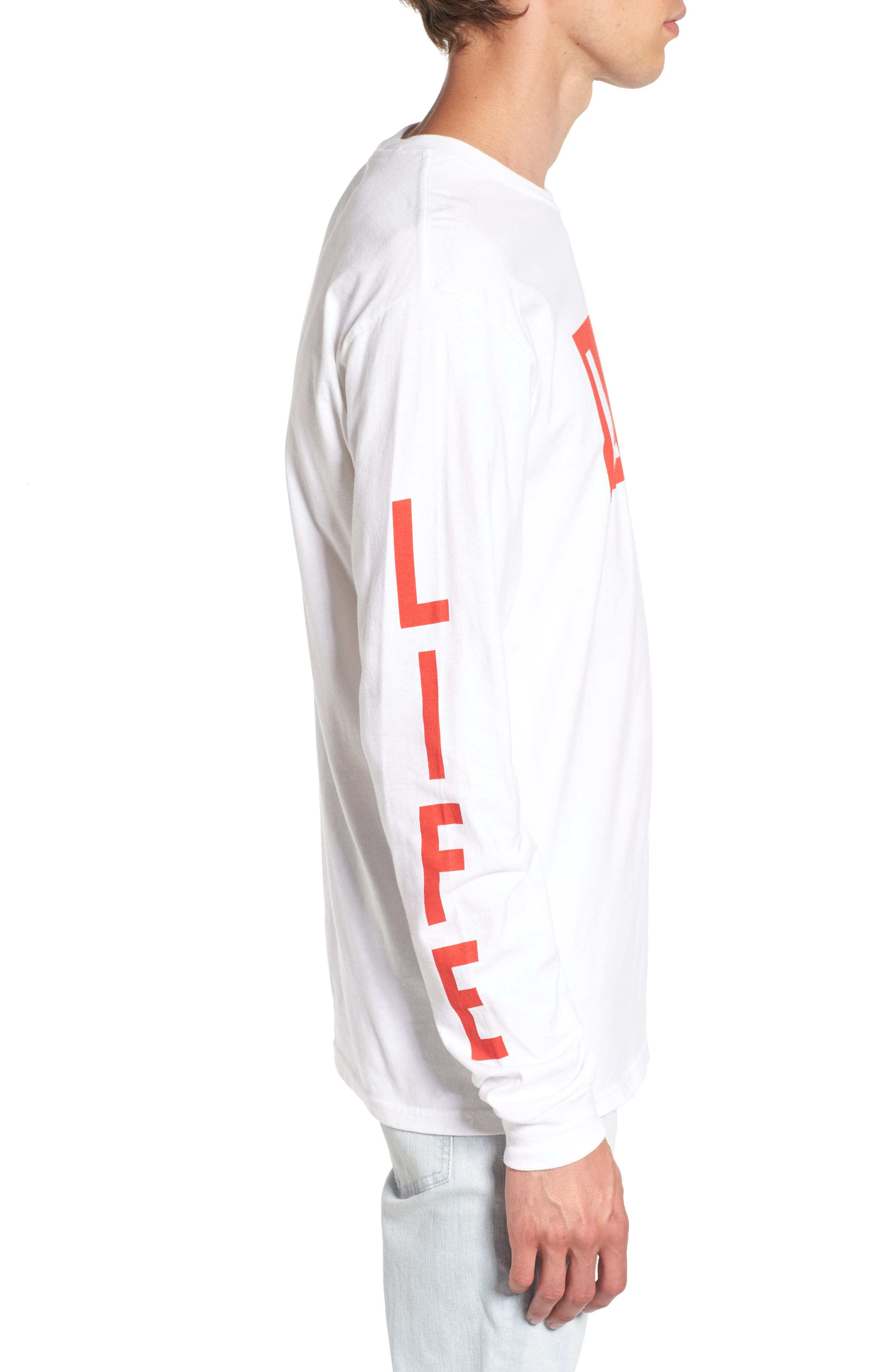 Alternate Image 3  - Altru Life Logo Long Sleeve T-Shirt