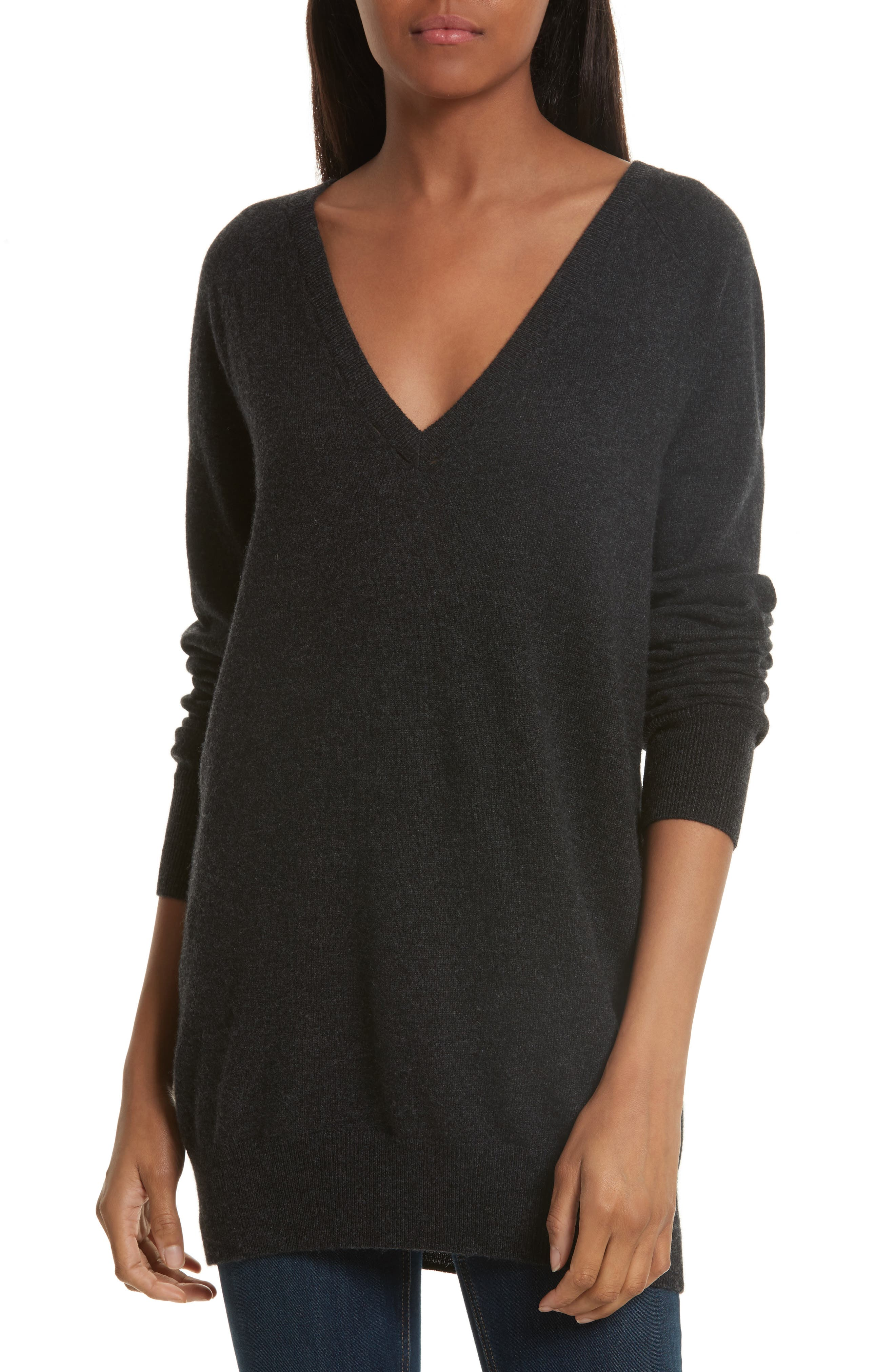 Equipment Asher V-Neck Wool & Cashmere Sweater
