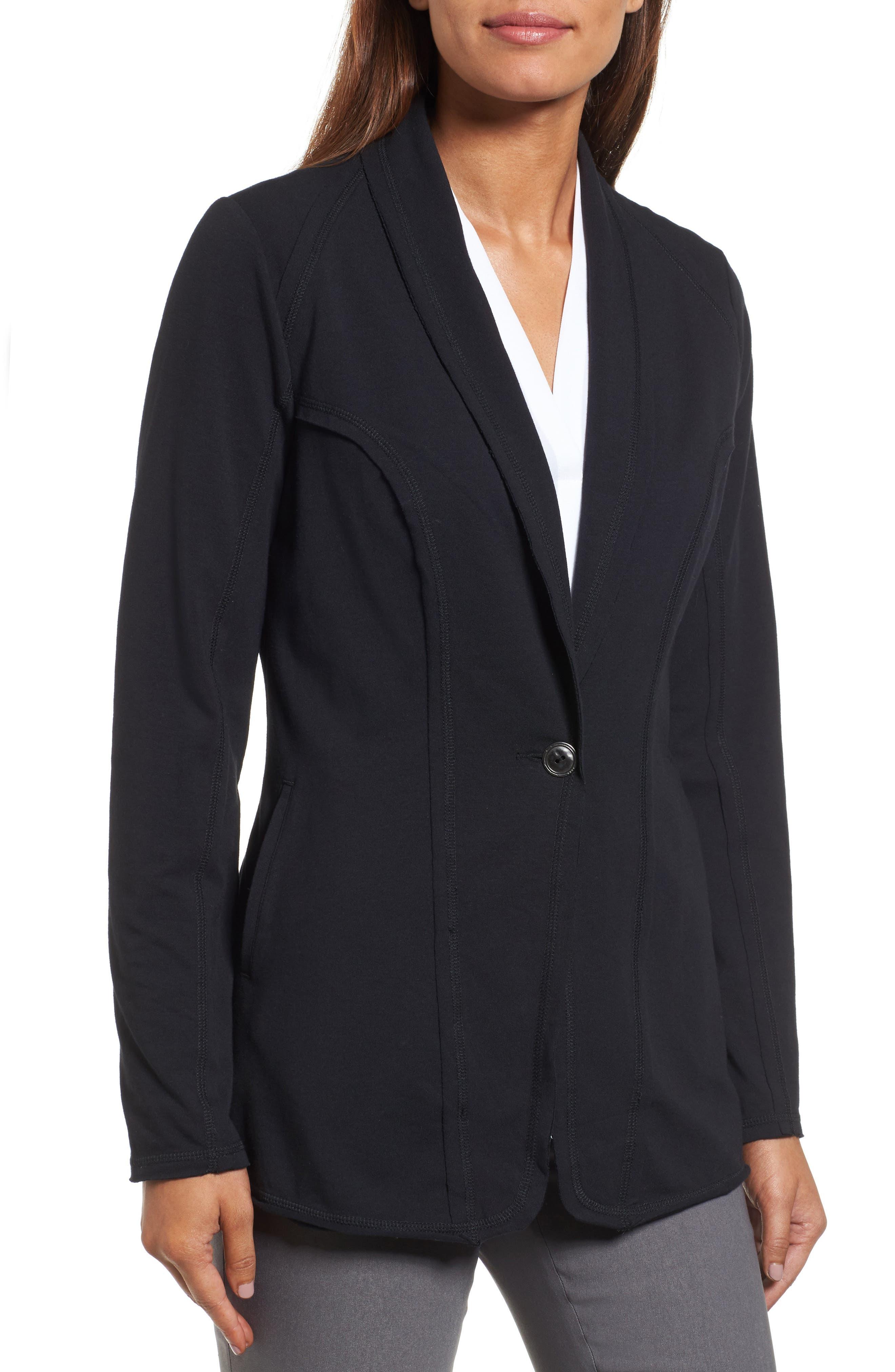 The Perfect Jacket,                             Alternate thumbnail 4, color,                             Black Onyx