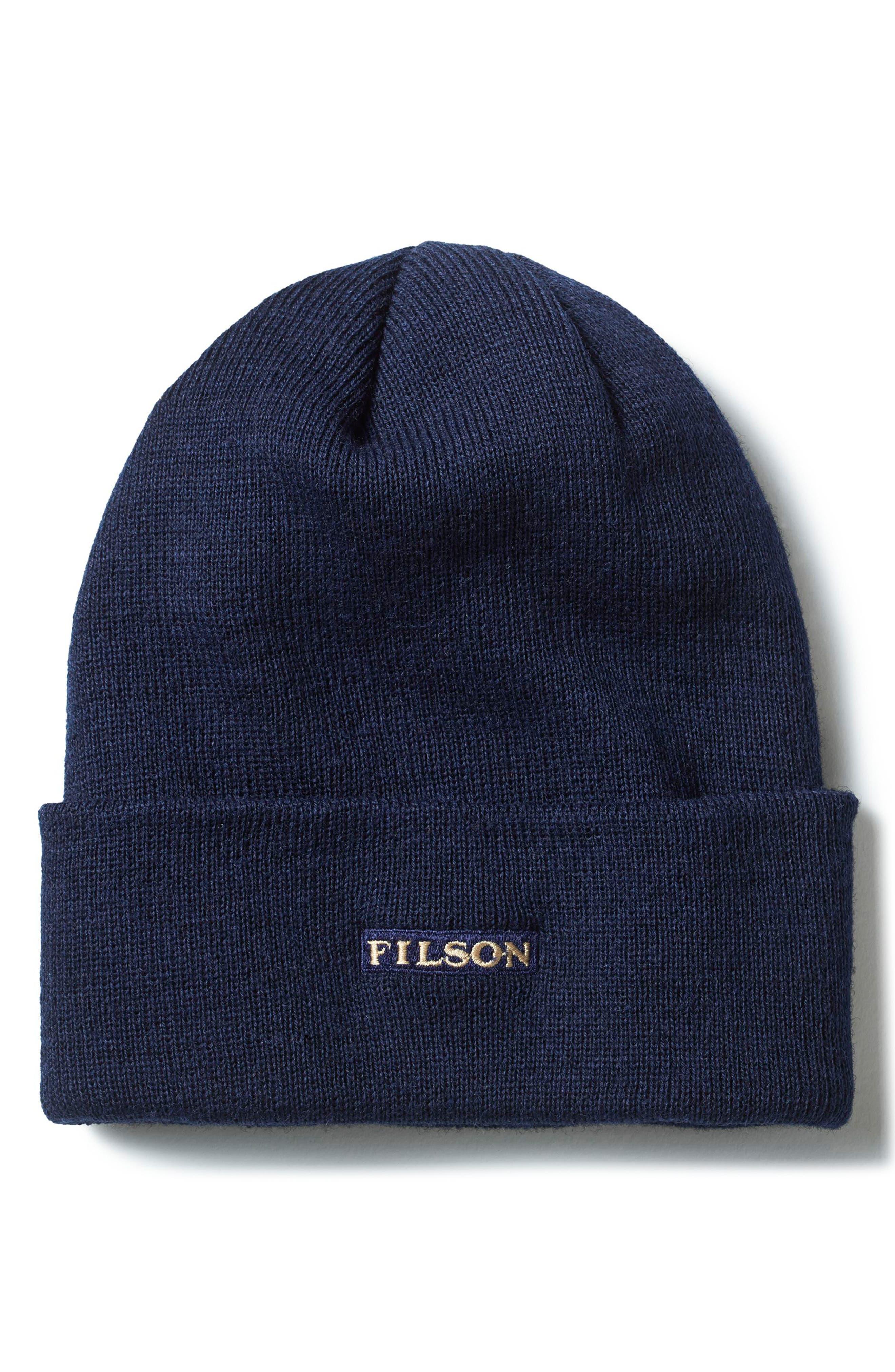WOOL CAP - BLUE