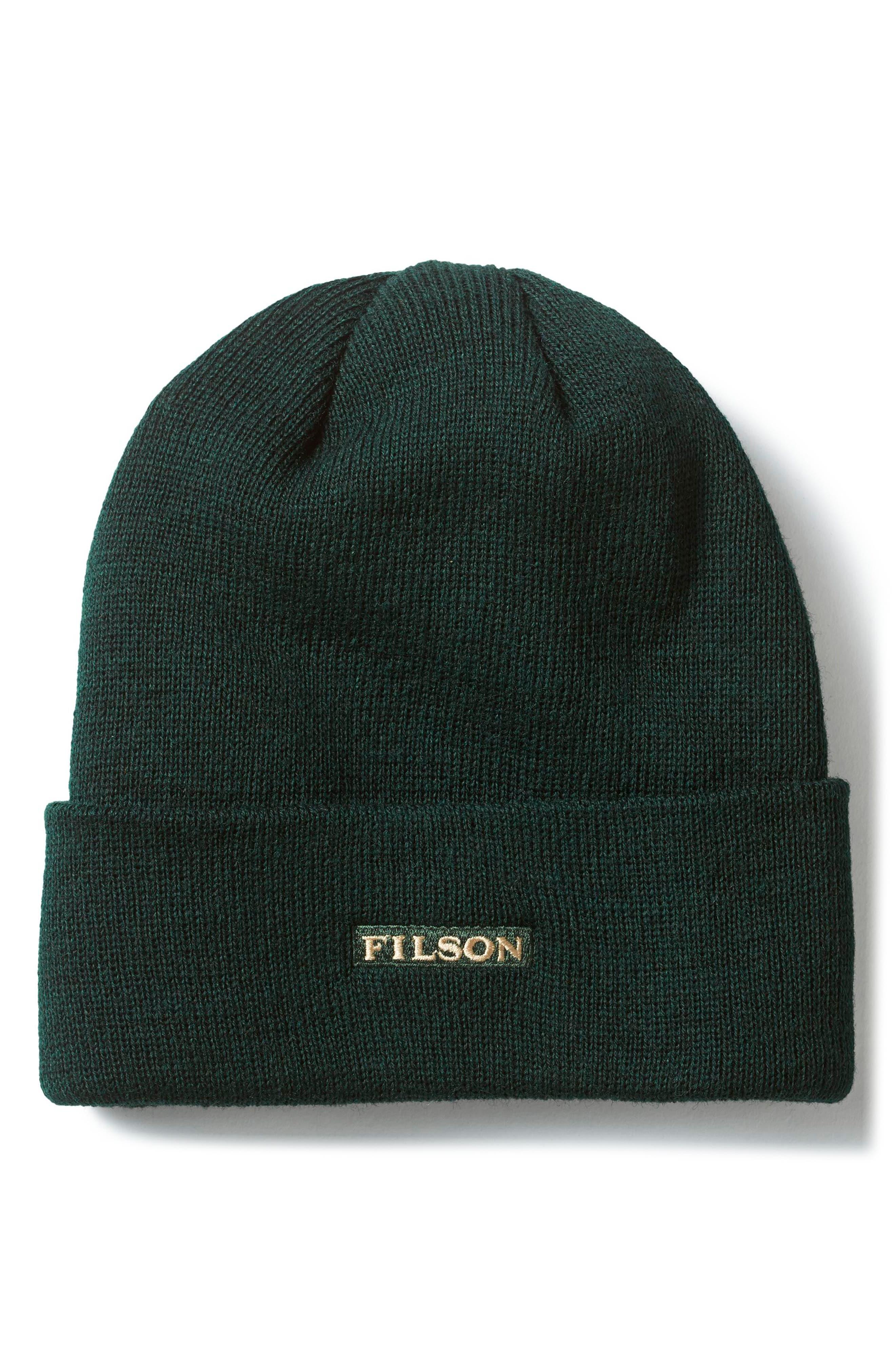 Wool Cap,                             Main thumbnail 1, color,                             Green