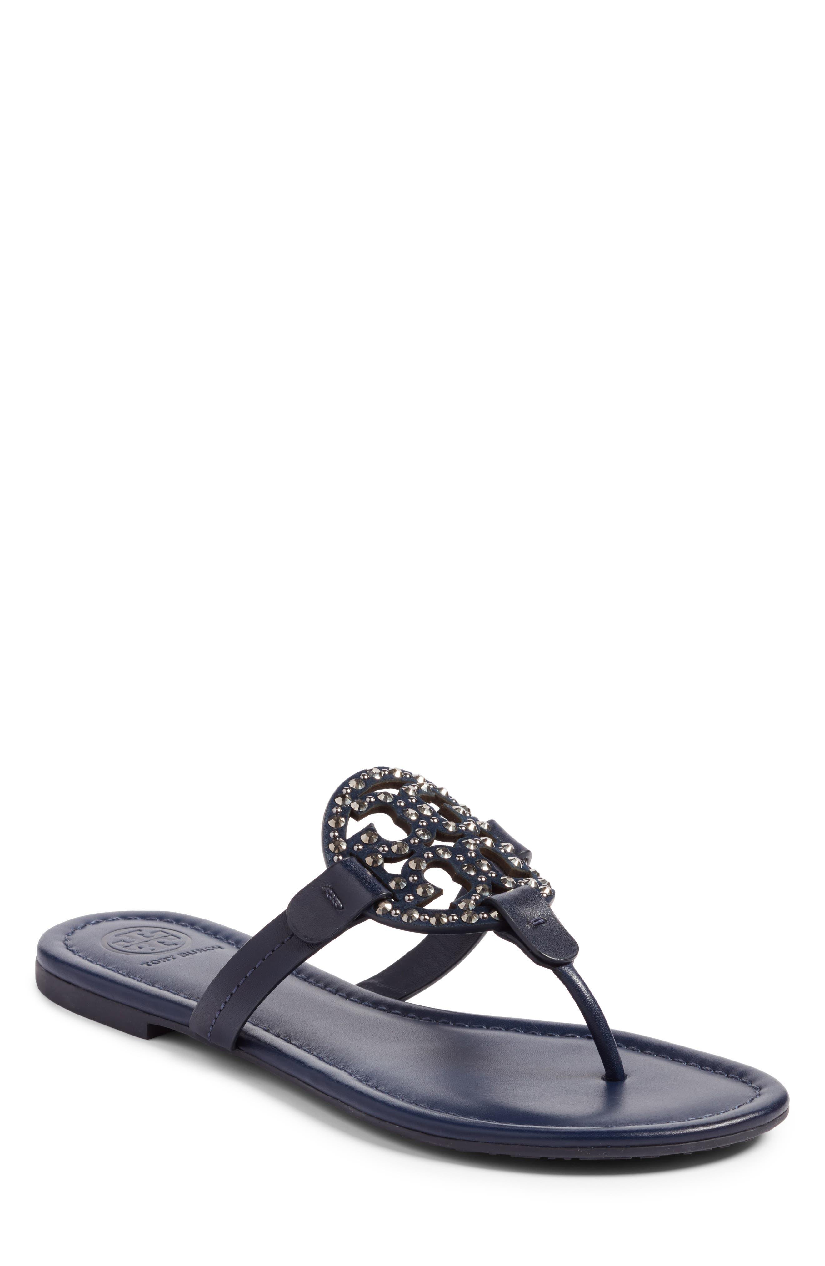 Tory Burch Miller Embellished Sandal (Women)