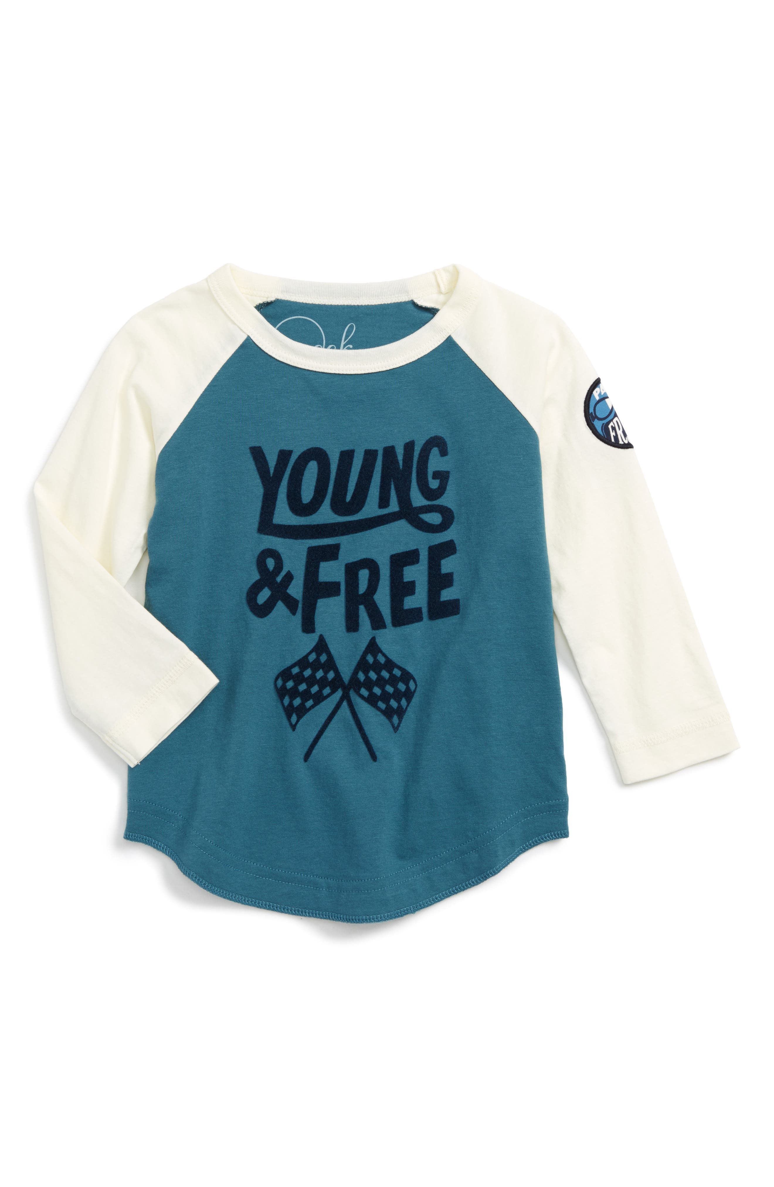 Peek Young & Free T-Shirt (Toddler Boys, Little Boys & Big Boys)