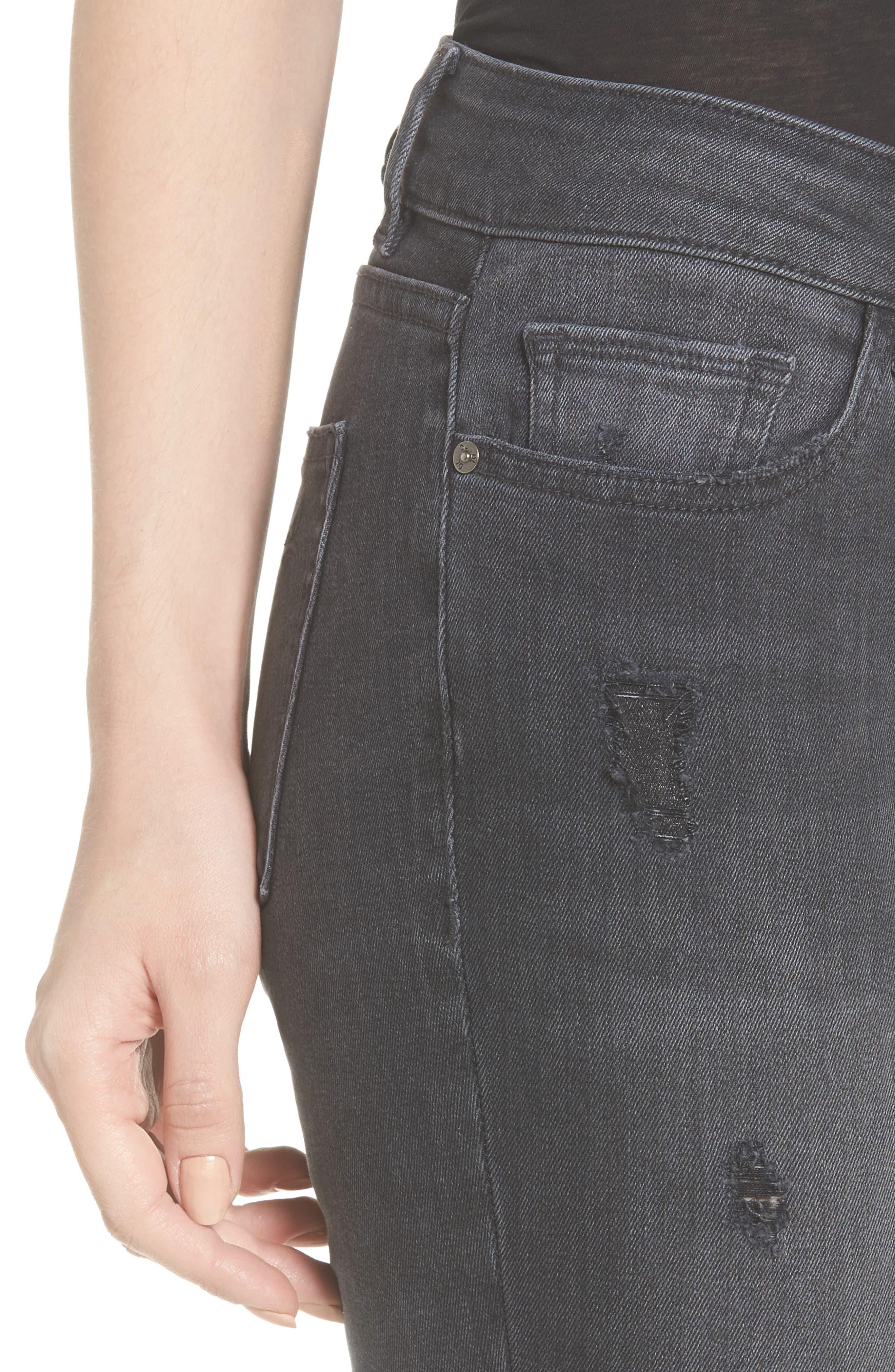Alternate Image 4  - DL1961 Emma Power Legging Jeans (Seneca)