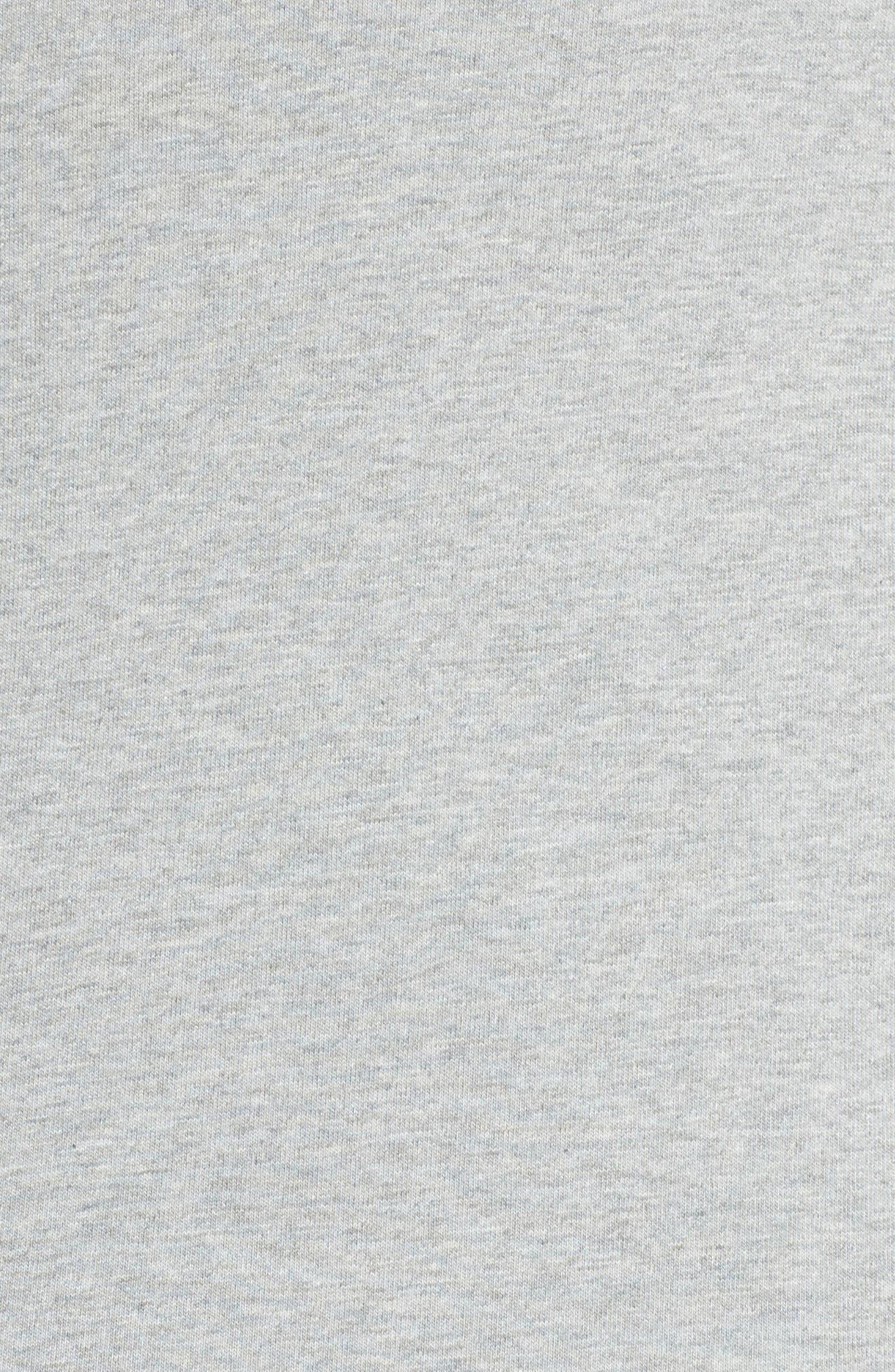 Alternate Image 5  - Nike Sportswear Gym Classic Hoodie (Plus Size)