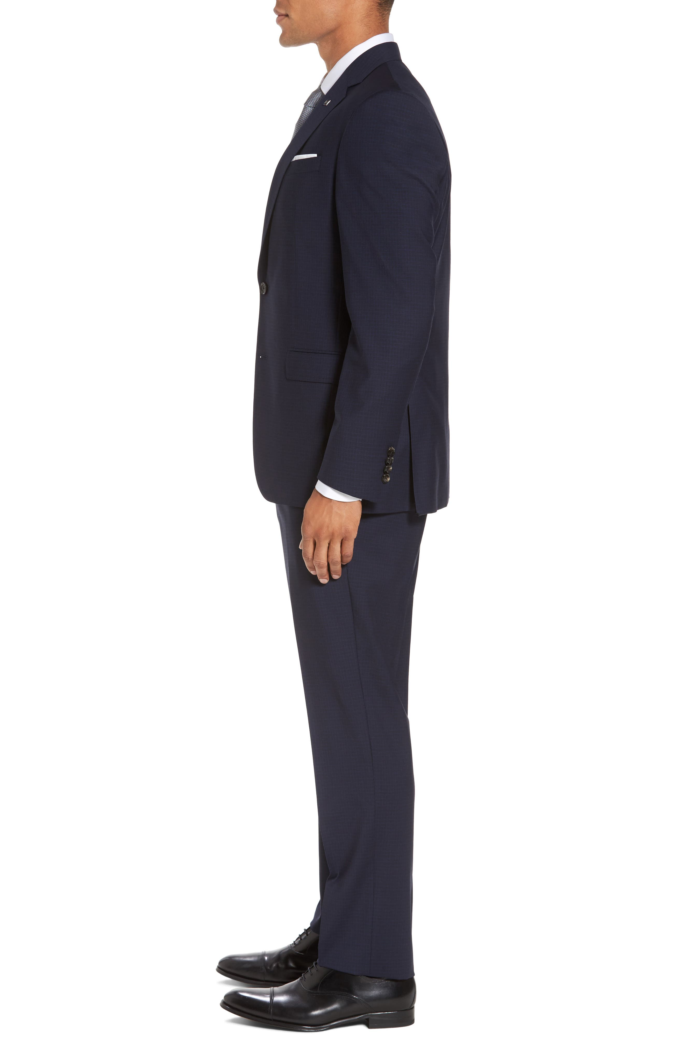Alternate Image 3  - Ted Baker London Jay Trim Fit Check Wool Suit