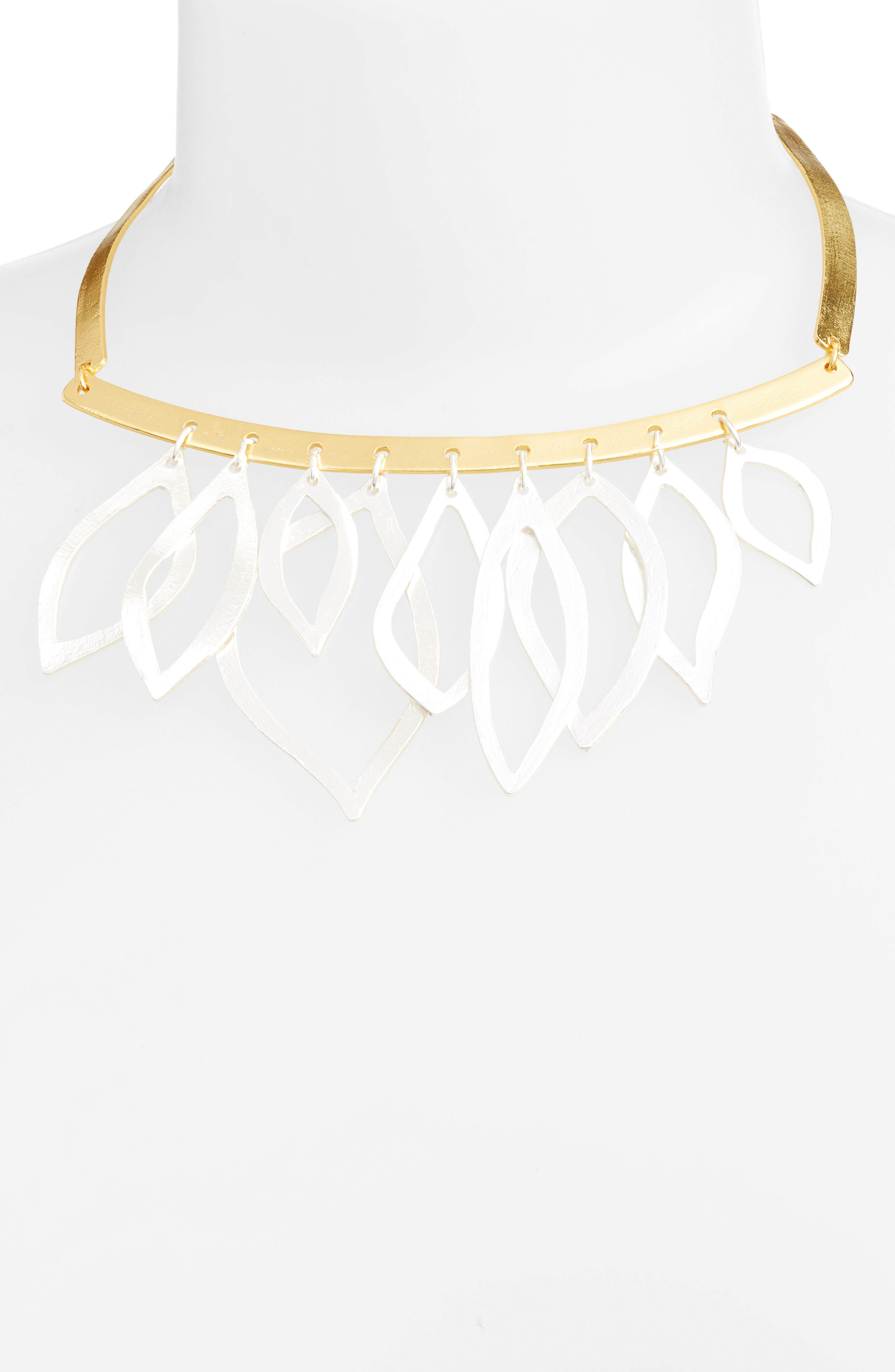 Alternate Image 2  - Karine Sultan Two-Tone Frontal Necklace