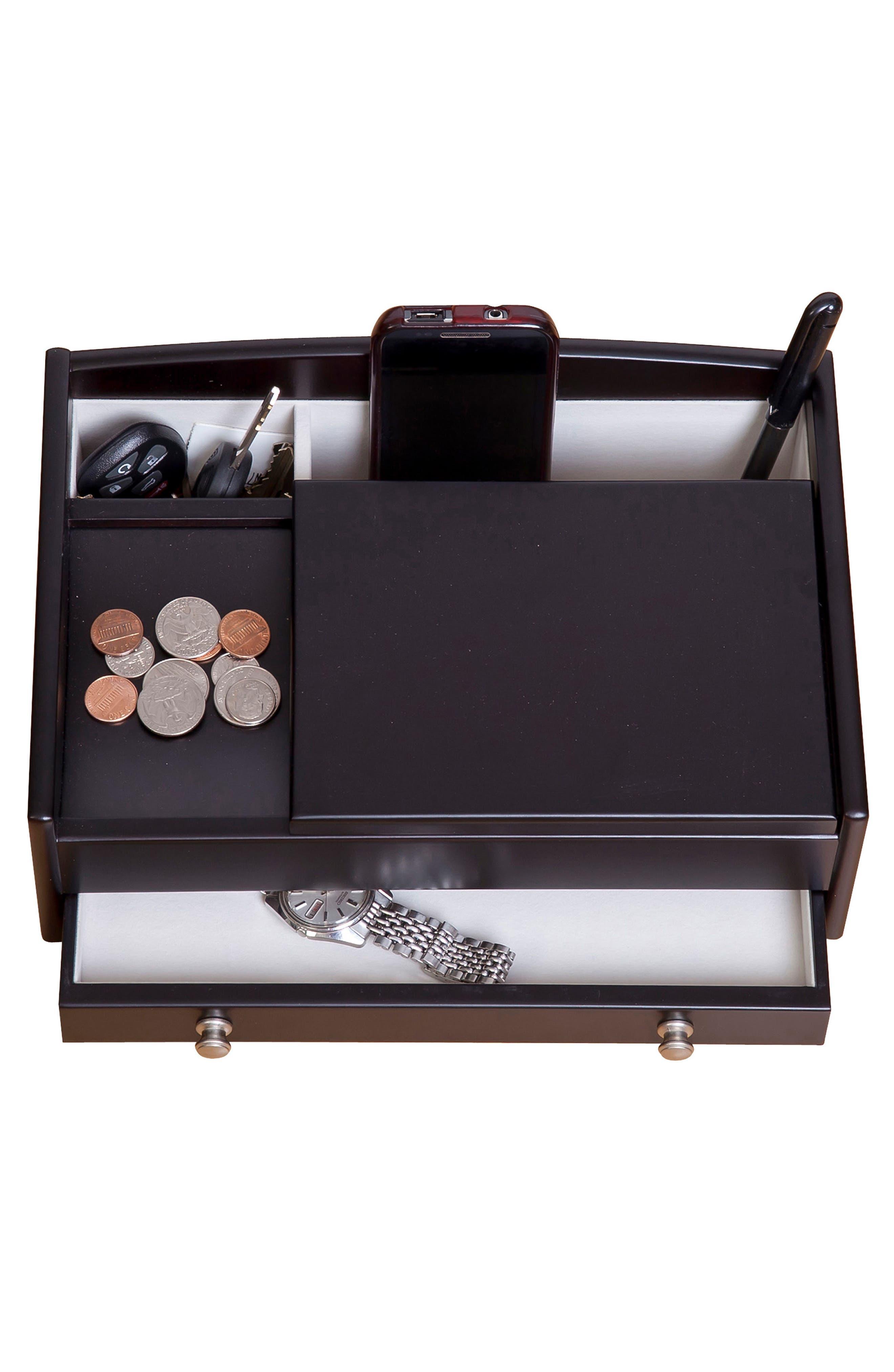 Alternate Image 2  - Mele & Co. Kent Valet Box