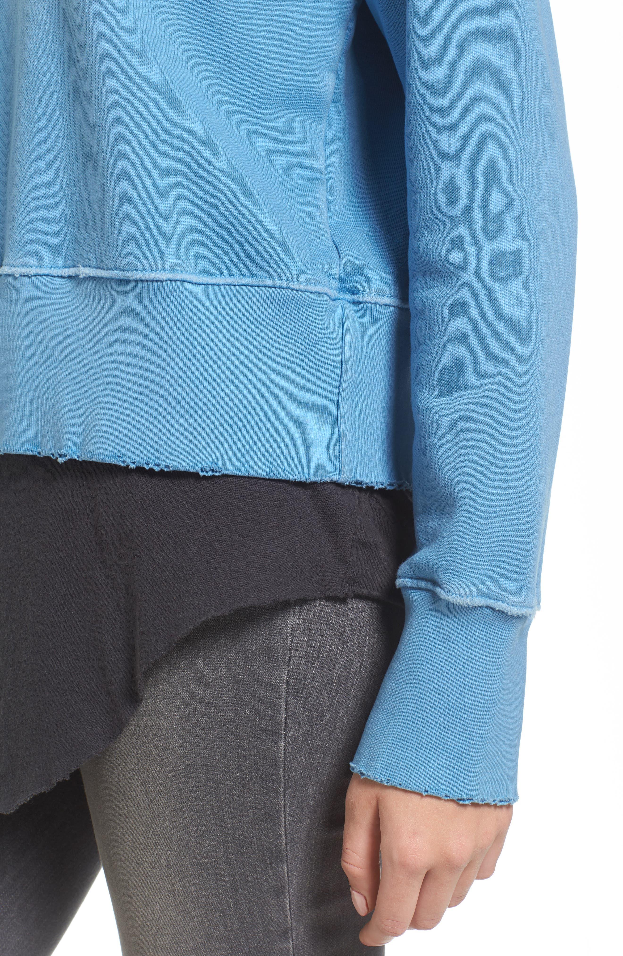 Sweatshirt,                             Alternate thumbnail 4, color,                             Deep End
