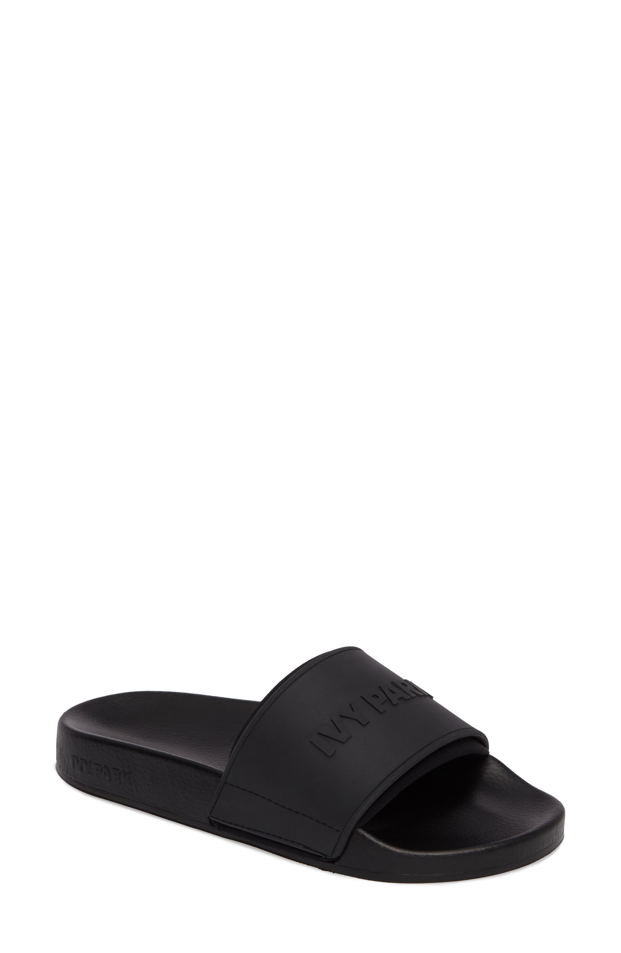 IVY PARK® Embossed Neoprene Lined Slide Sandal (Women)