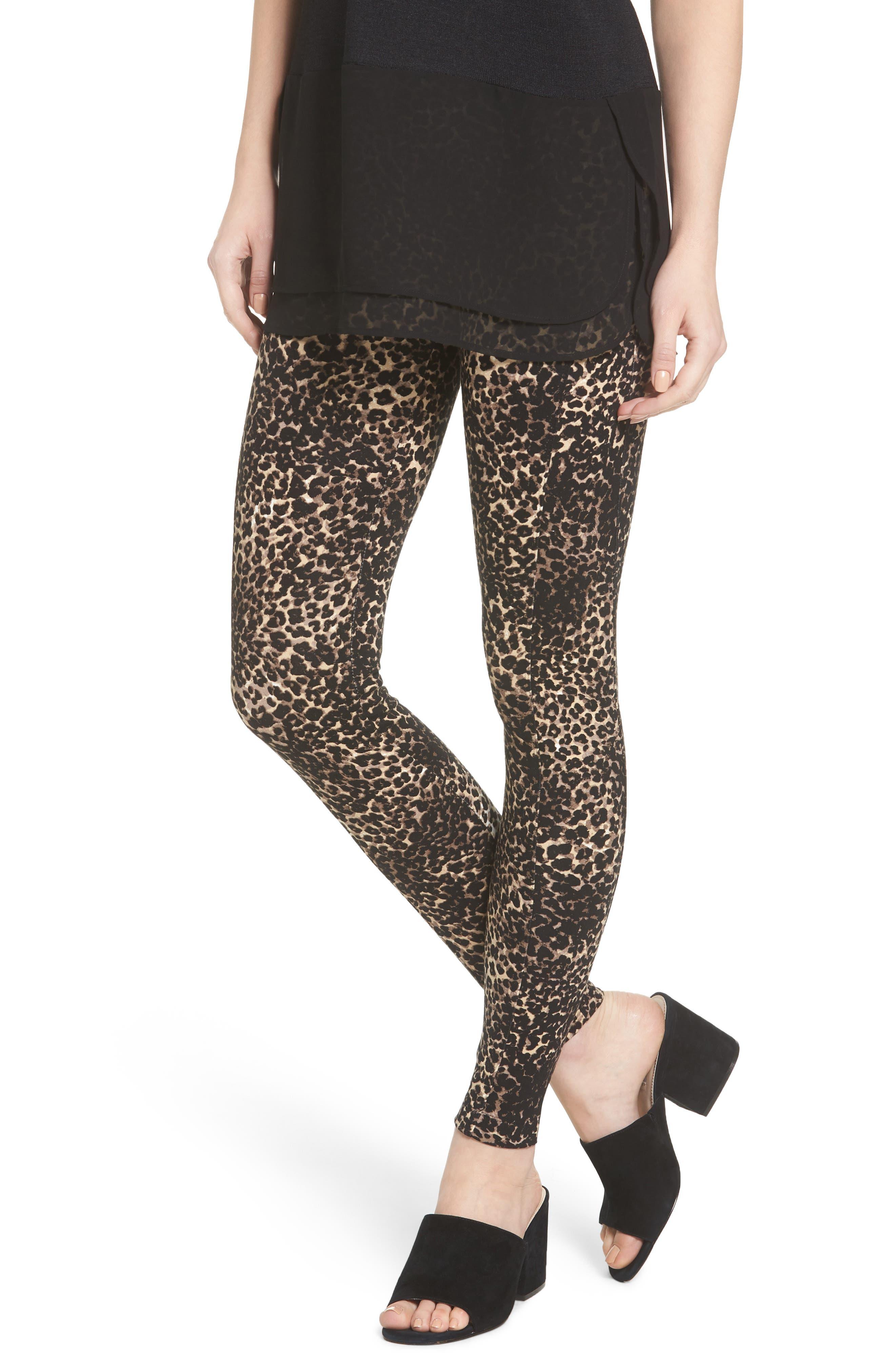 Lyssé Ella Leopard Print Leggings