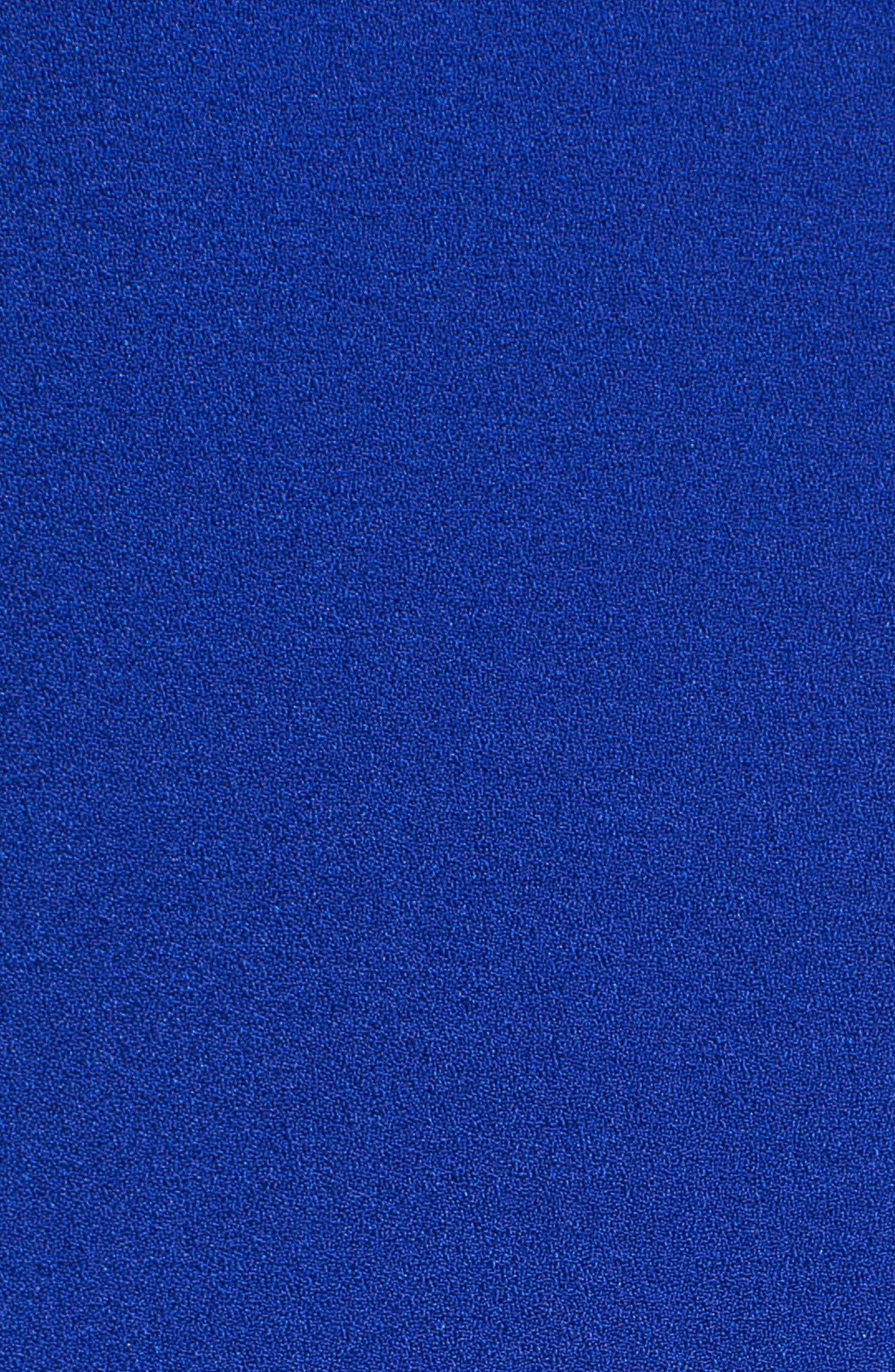 Alternate Image 5  - Vince Camuto Sleeveless Crepe Sheath Dress (Regular & Petite)