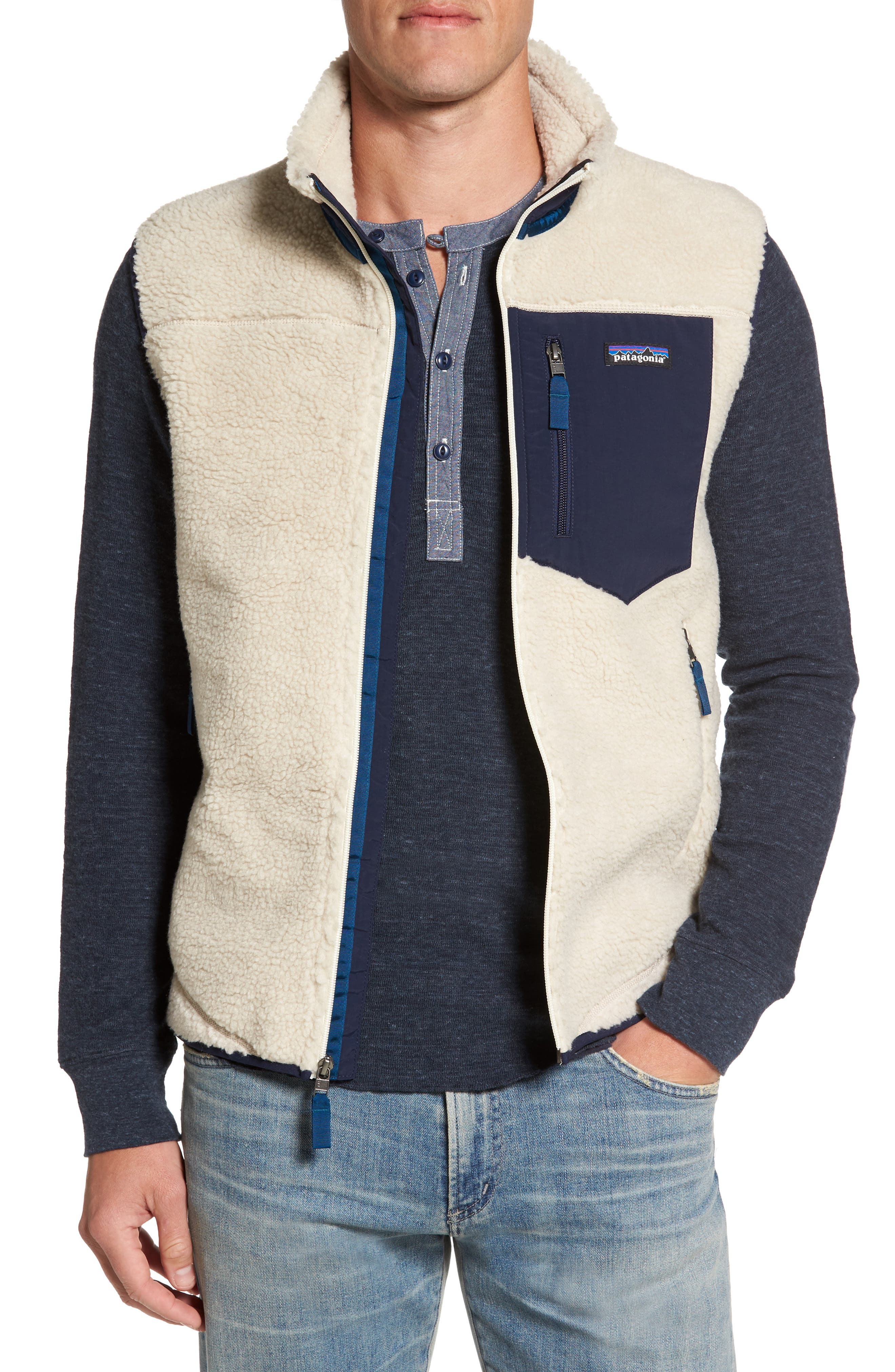 Alternate Image 1 Selected - Patagonia Classic Retro-X® Waterproof Vest