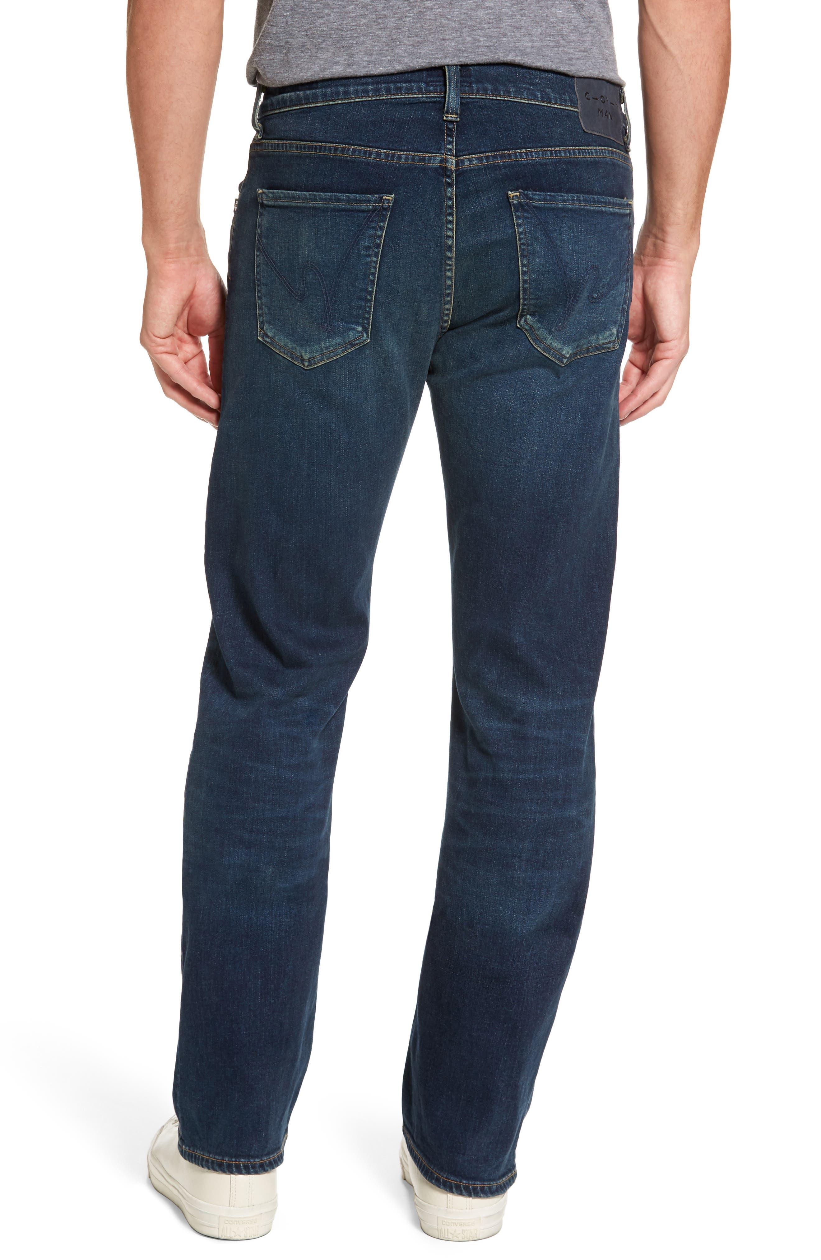 Sid Straight Leg Jeans,                             Alternate thumbnail 2, color,                             Brigade