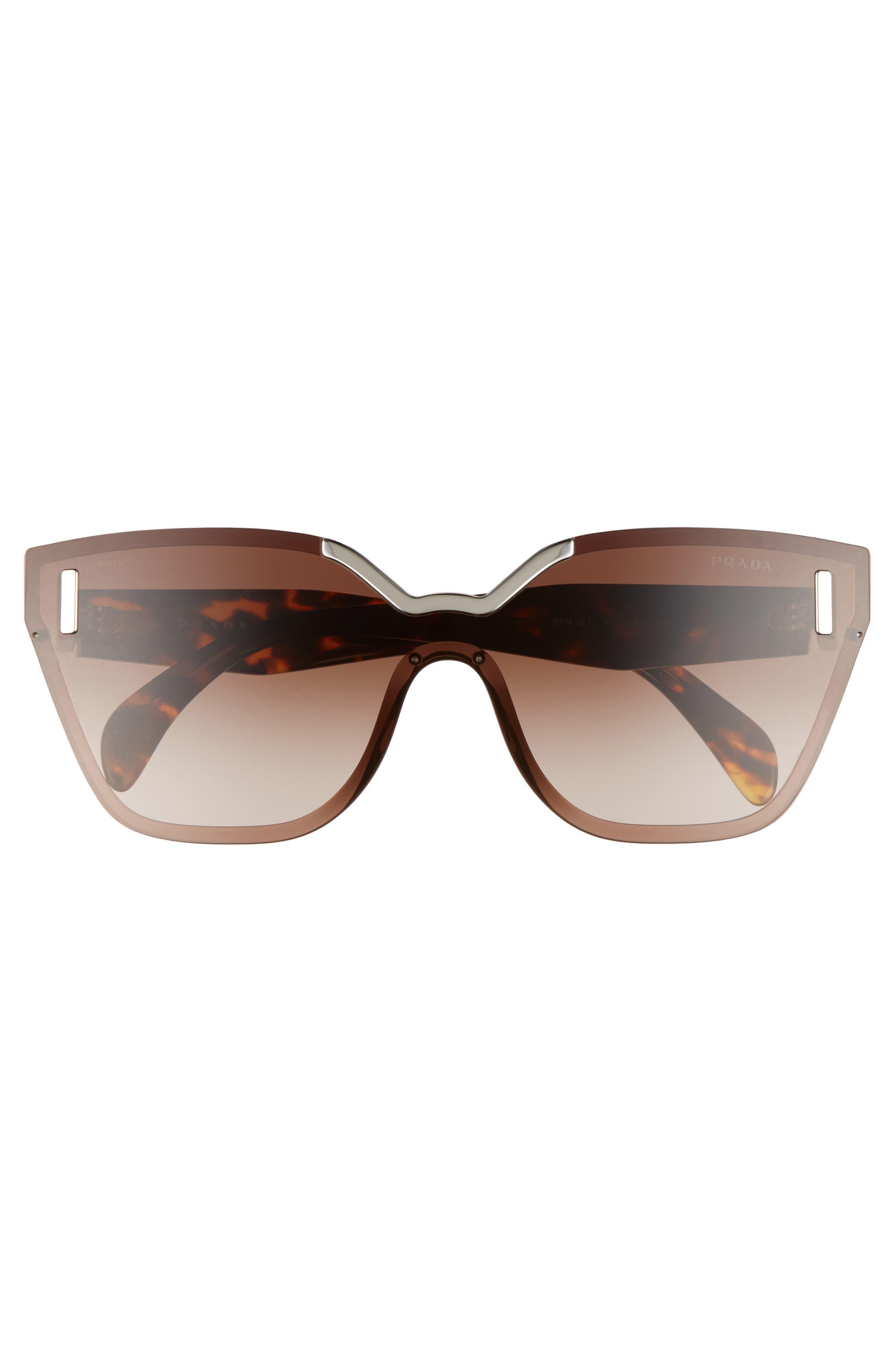 Alternate Image 3  - Prada Gradient Shield Sunglasses