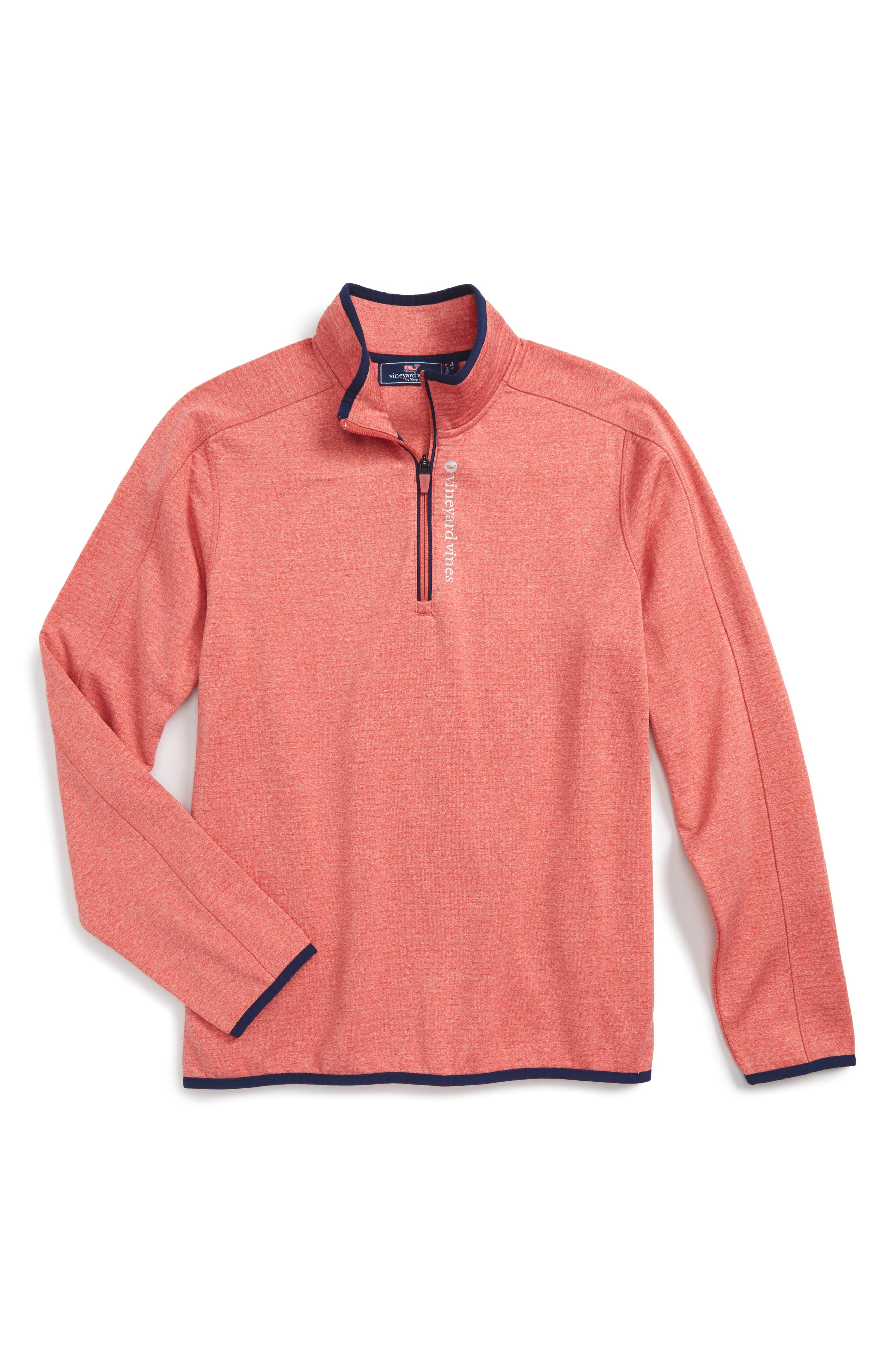 VINEYARD VINES Grid Fleece Sweater