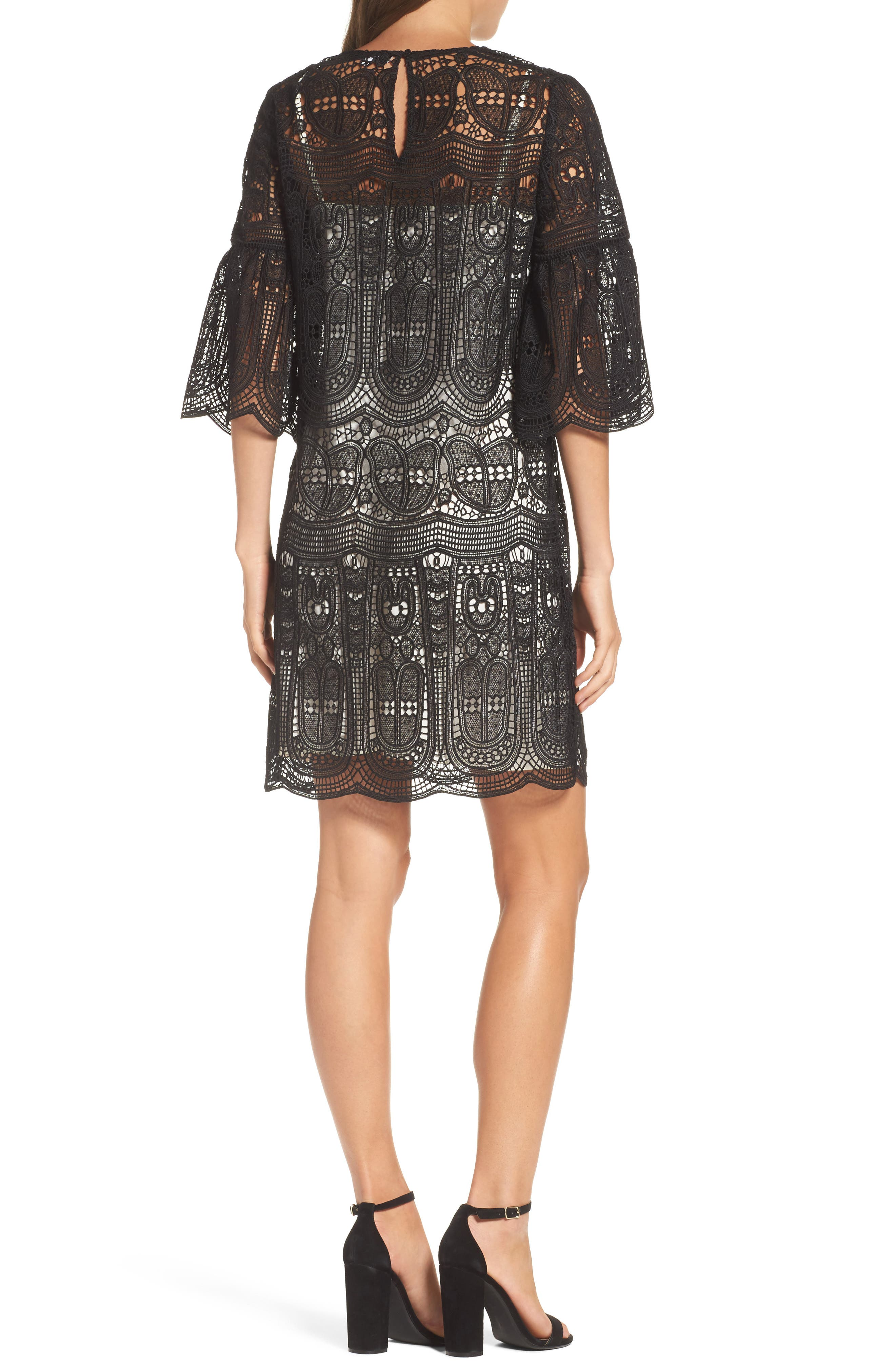 Alternate Image 2  - Kobi Halperin Gaia Lace Shift Dress (Nordstrom Exclusive)