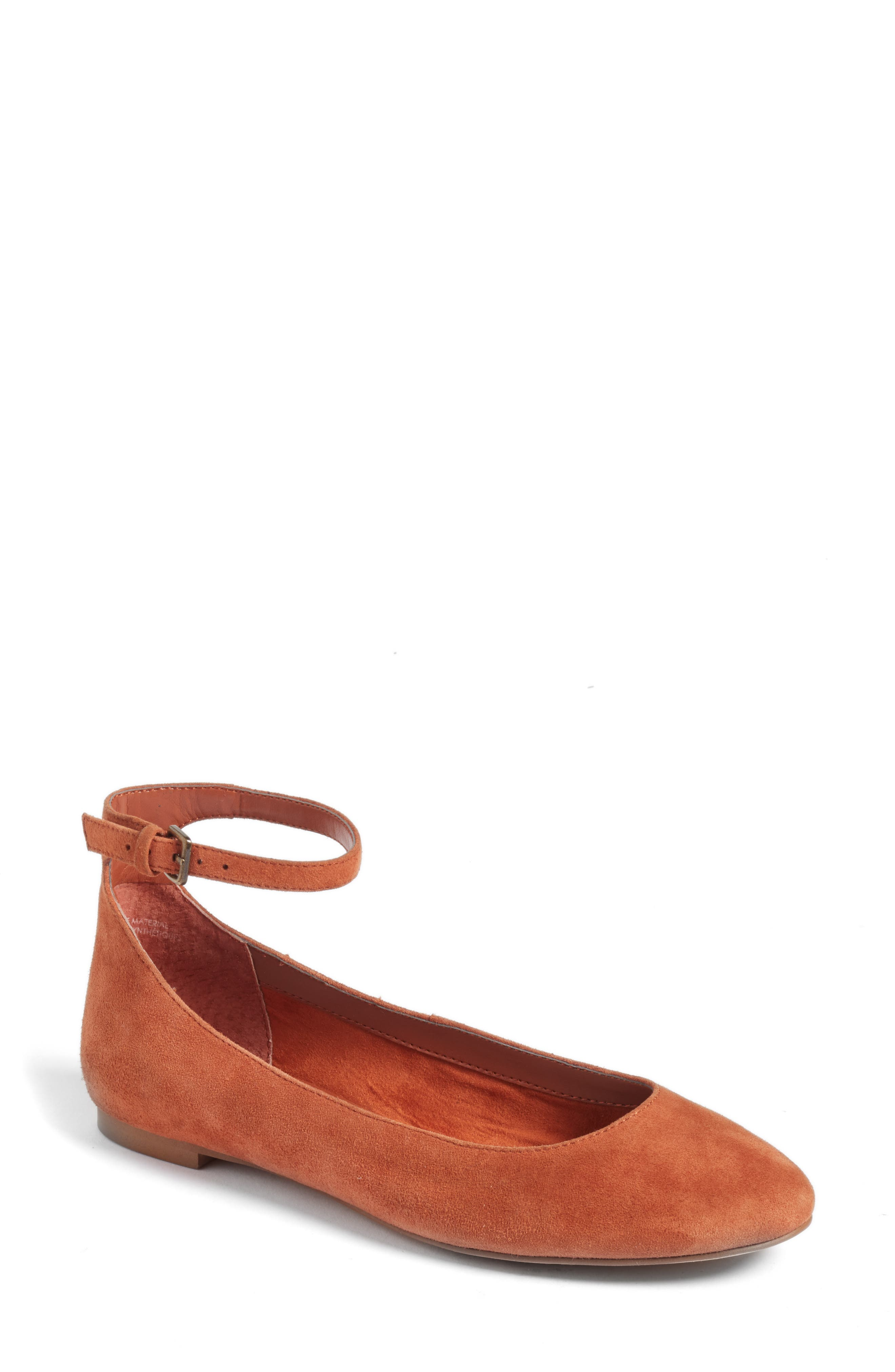 Treasure & Bond Jules Ankle Strap Ballet Flat (Women)