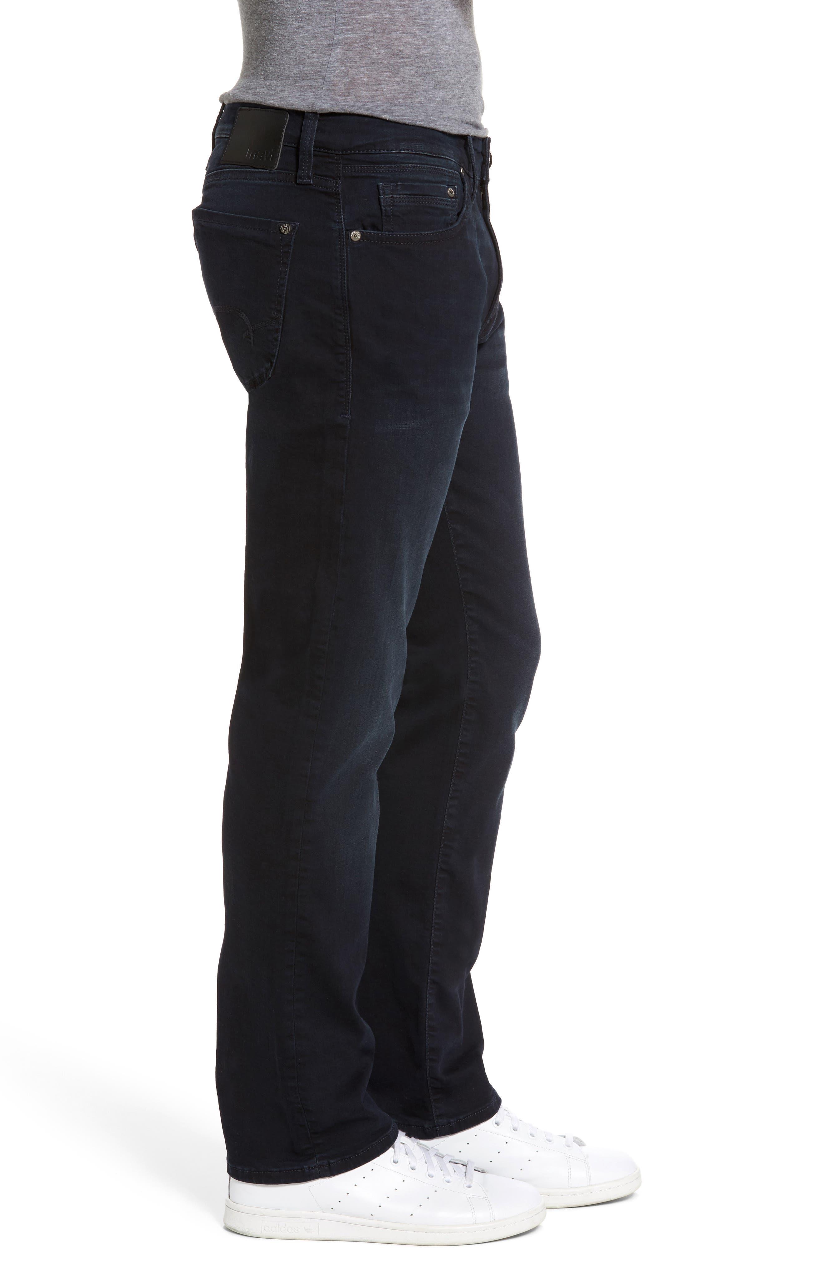 Alternate Image 3  - Mavi Jeans Zach Straight Leg Jeans (Brushed Williamsburg)