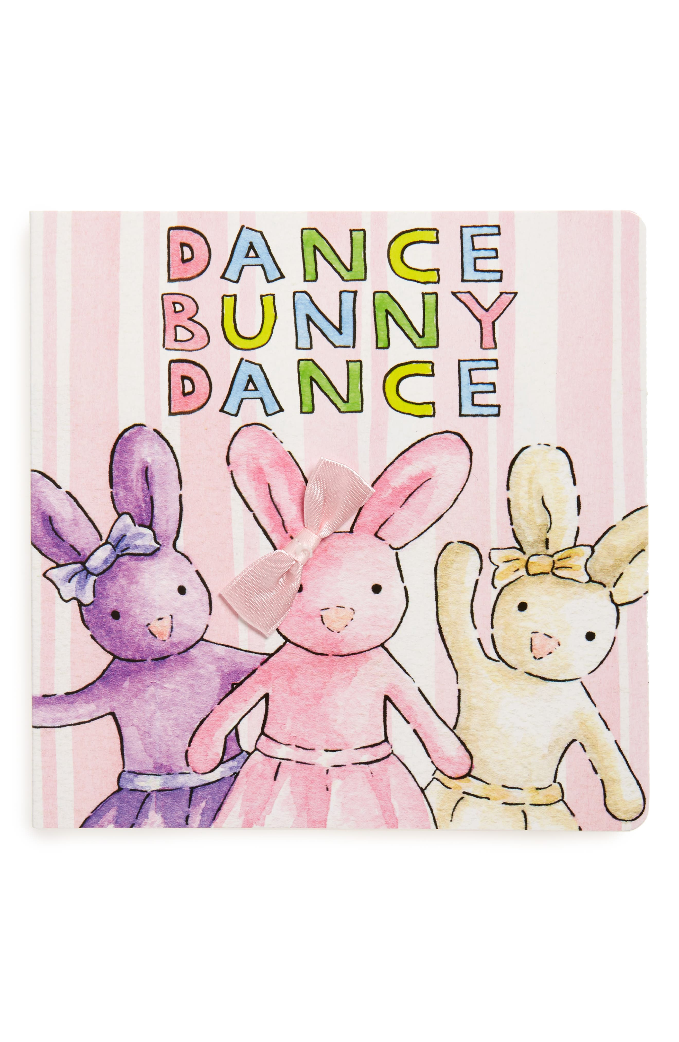'Dance Bunny Dance' Book,                         Main,                         color, Cream