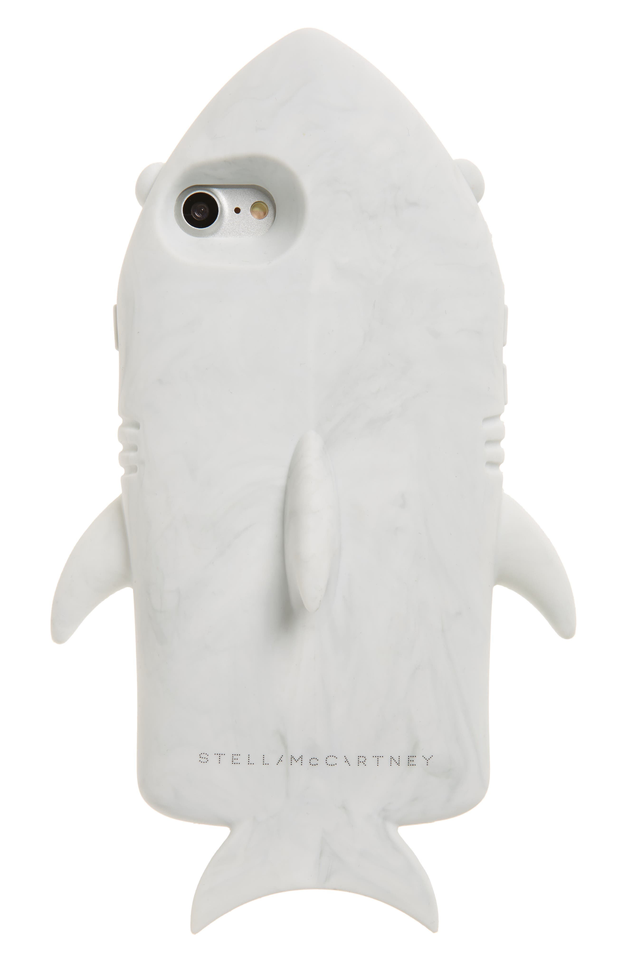 iPhone 7 Case,                             Main thumbnail 1, color,                             White