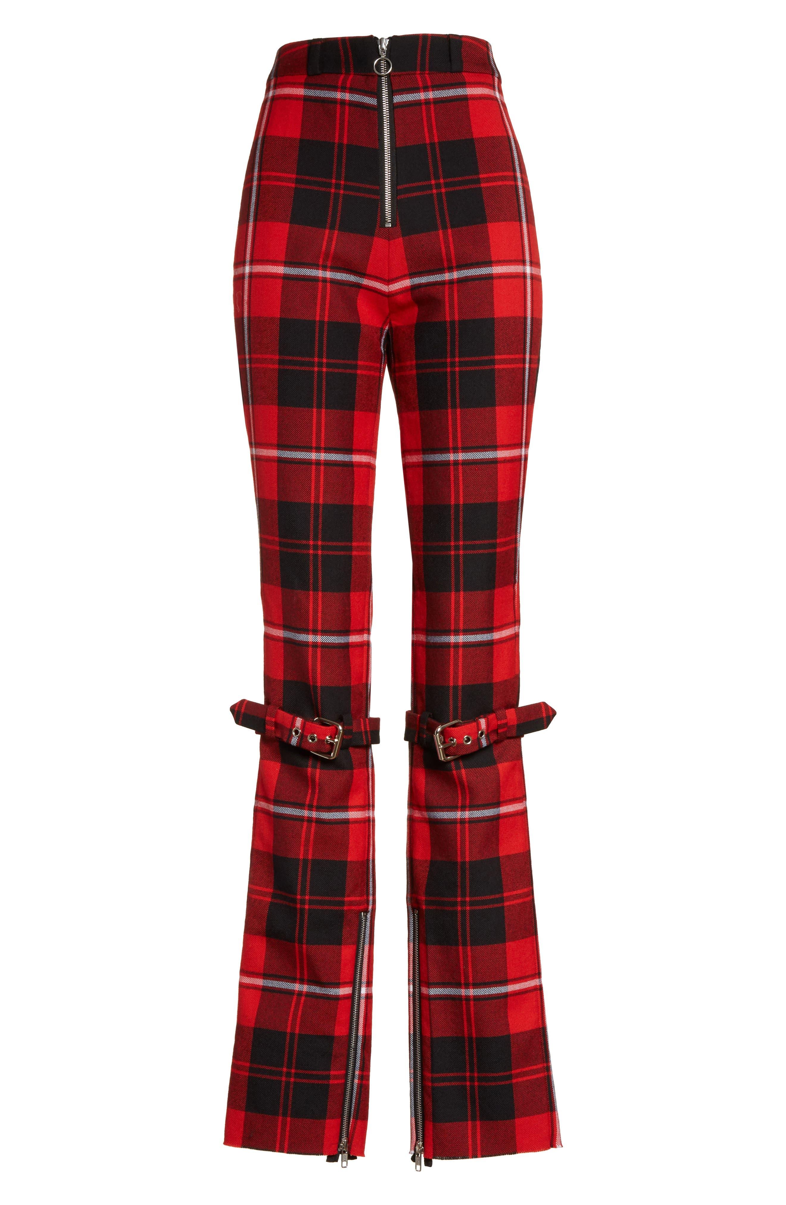 Alternate Image 6  - Dilara Findikoglu Manson Tartan Plaid Wool Pants