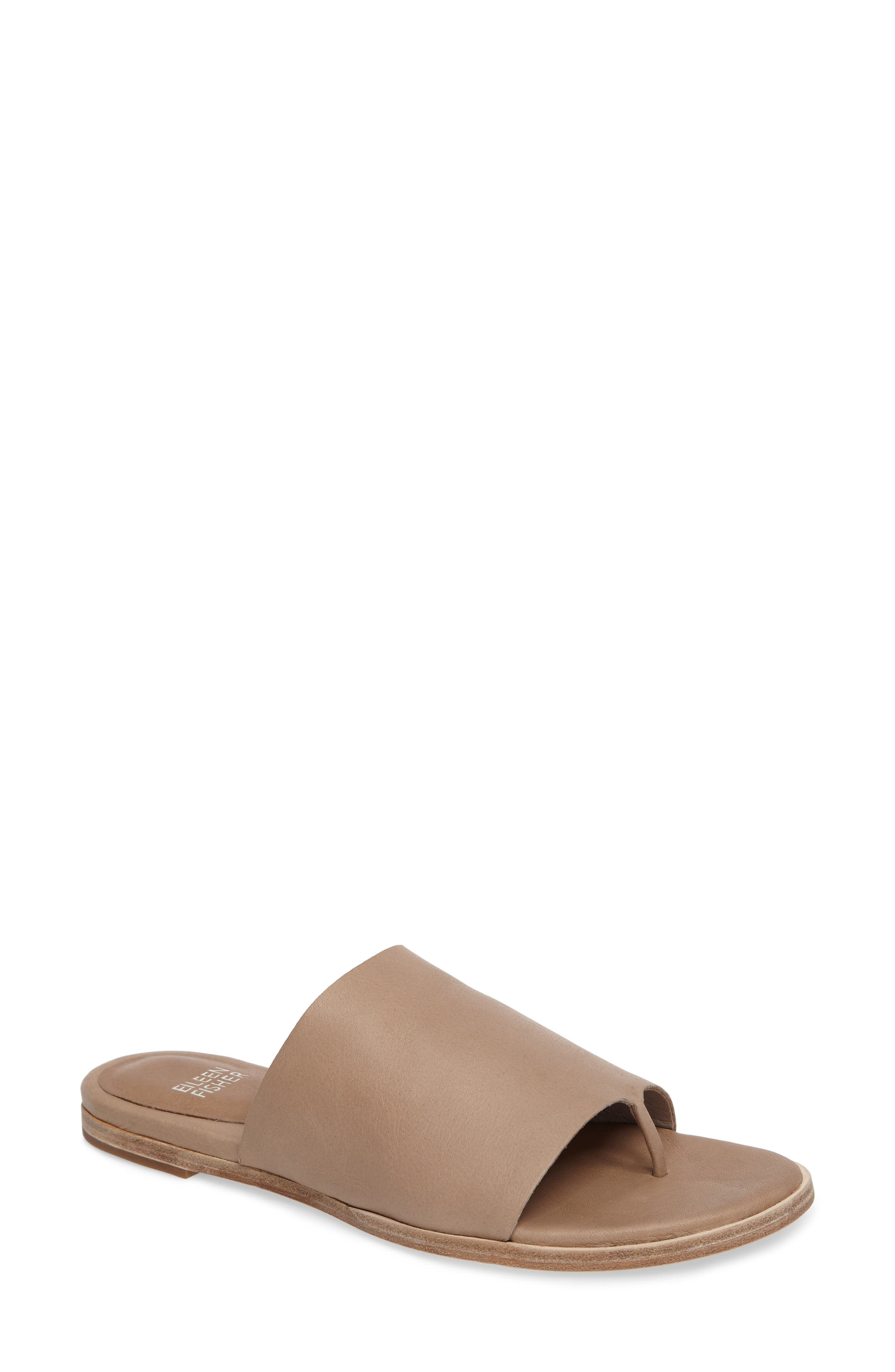 Alternate Image 1 Selected - Eileen Fisher 'Mere' Thong Sandal (Women)