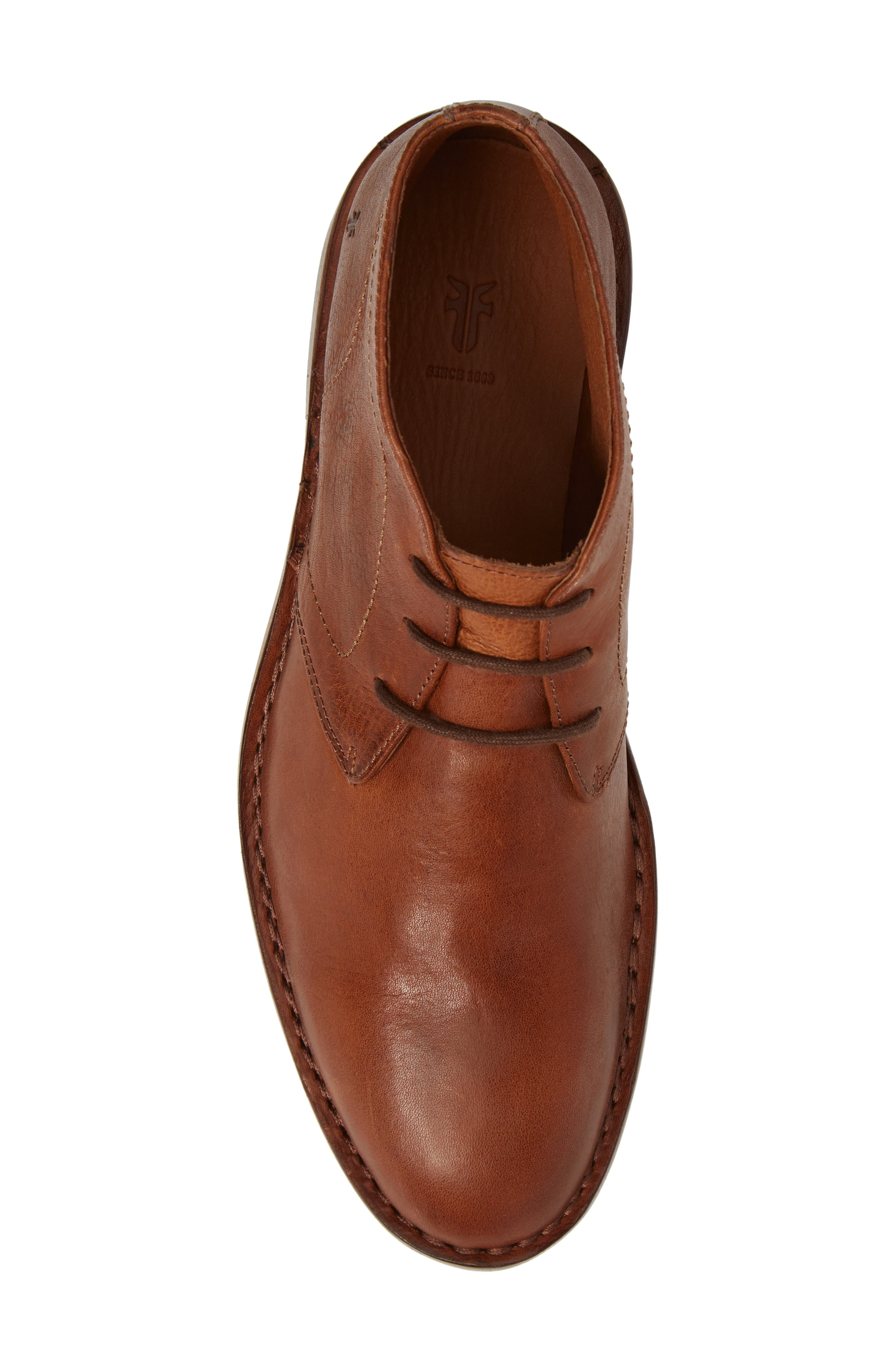 Mark Chukka Boot,                             Alternate thumbnail 4, color,                             Copper Leather