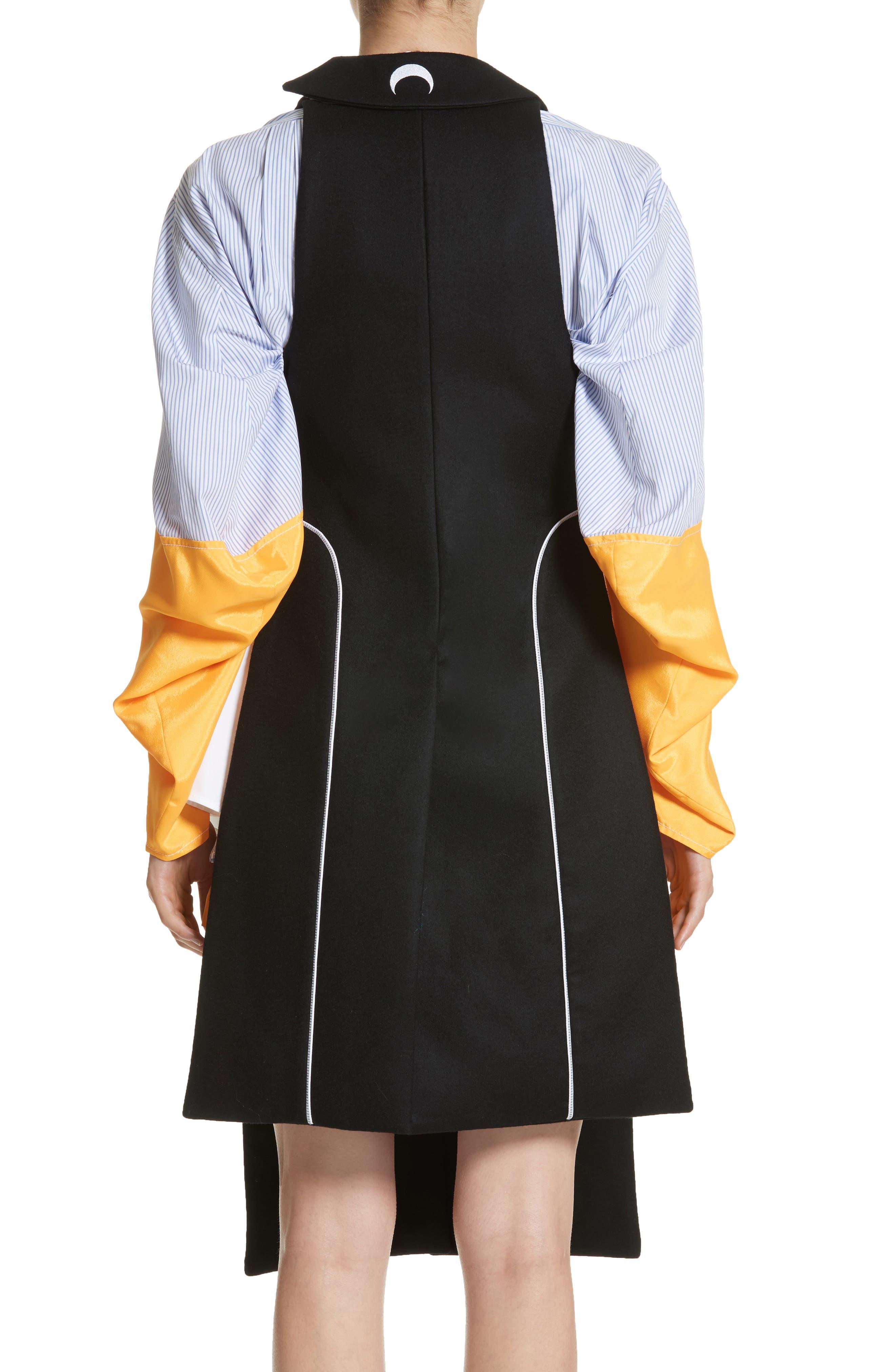 Wool Vest,                             Alternate thumbnail 2, color,                             Black