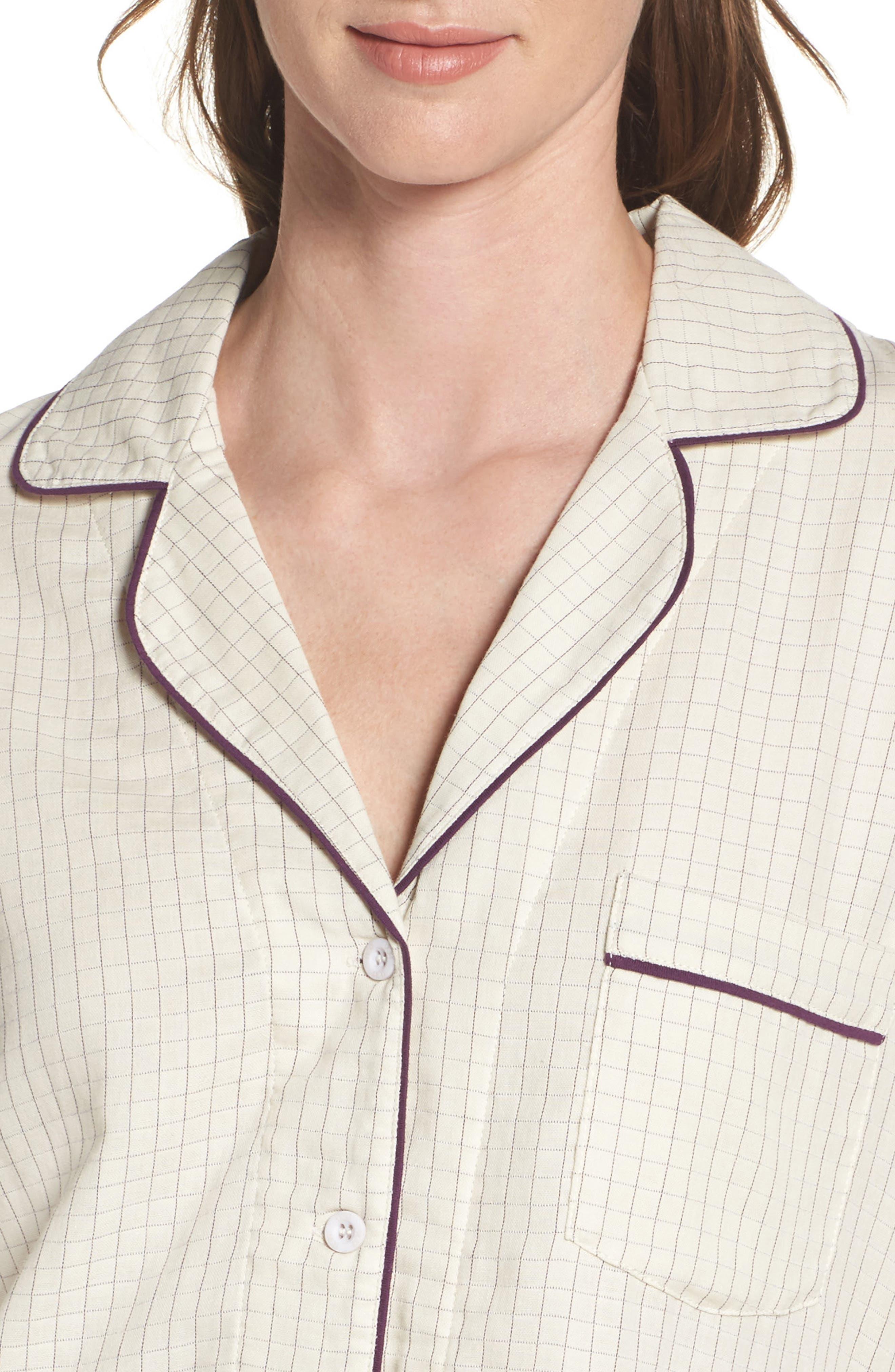 Alternate Image 4  - UGG® Raven Check Pajamas