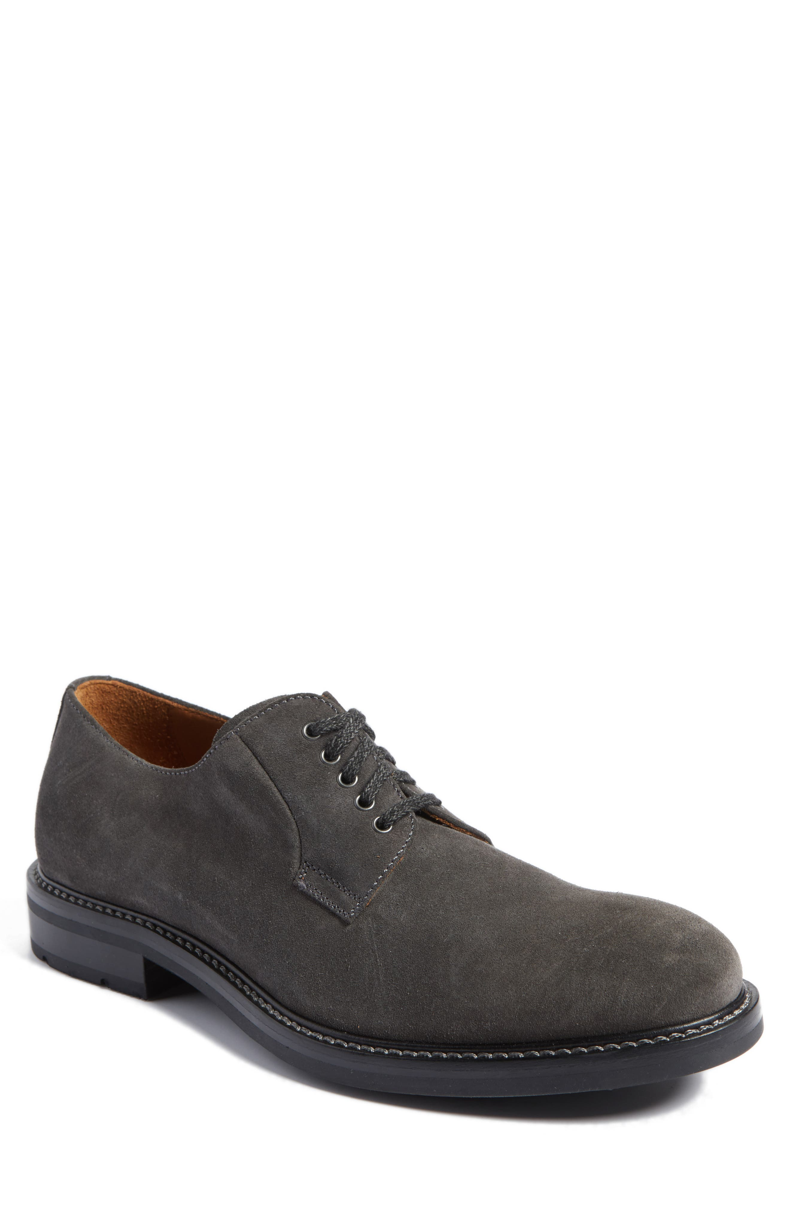 Roberto Derby,                             Main thumbnail 1, color,                             Dark Charcoal Suede