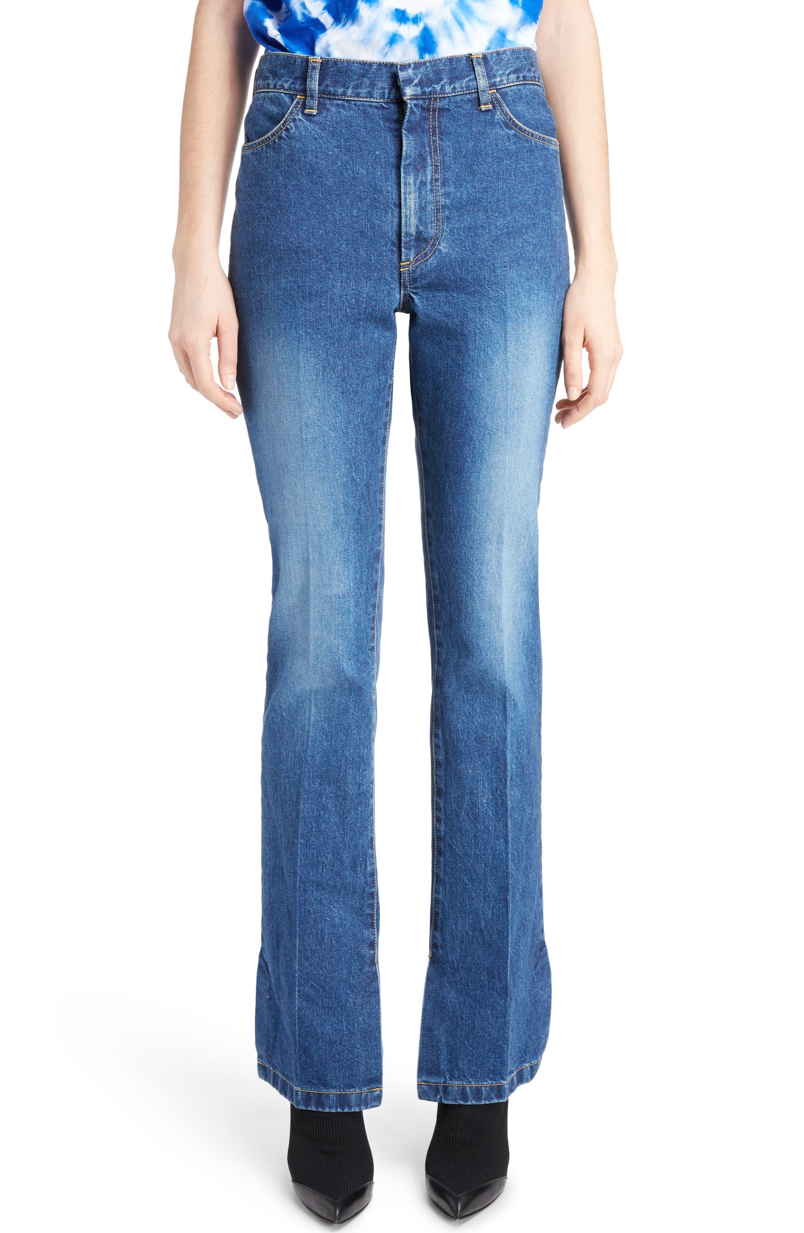 Main Image - Toga Flare Leg Jeans