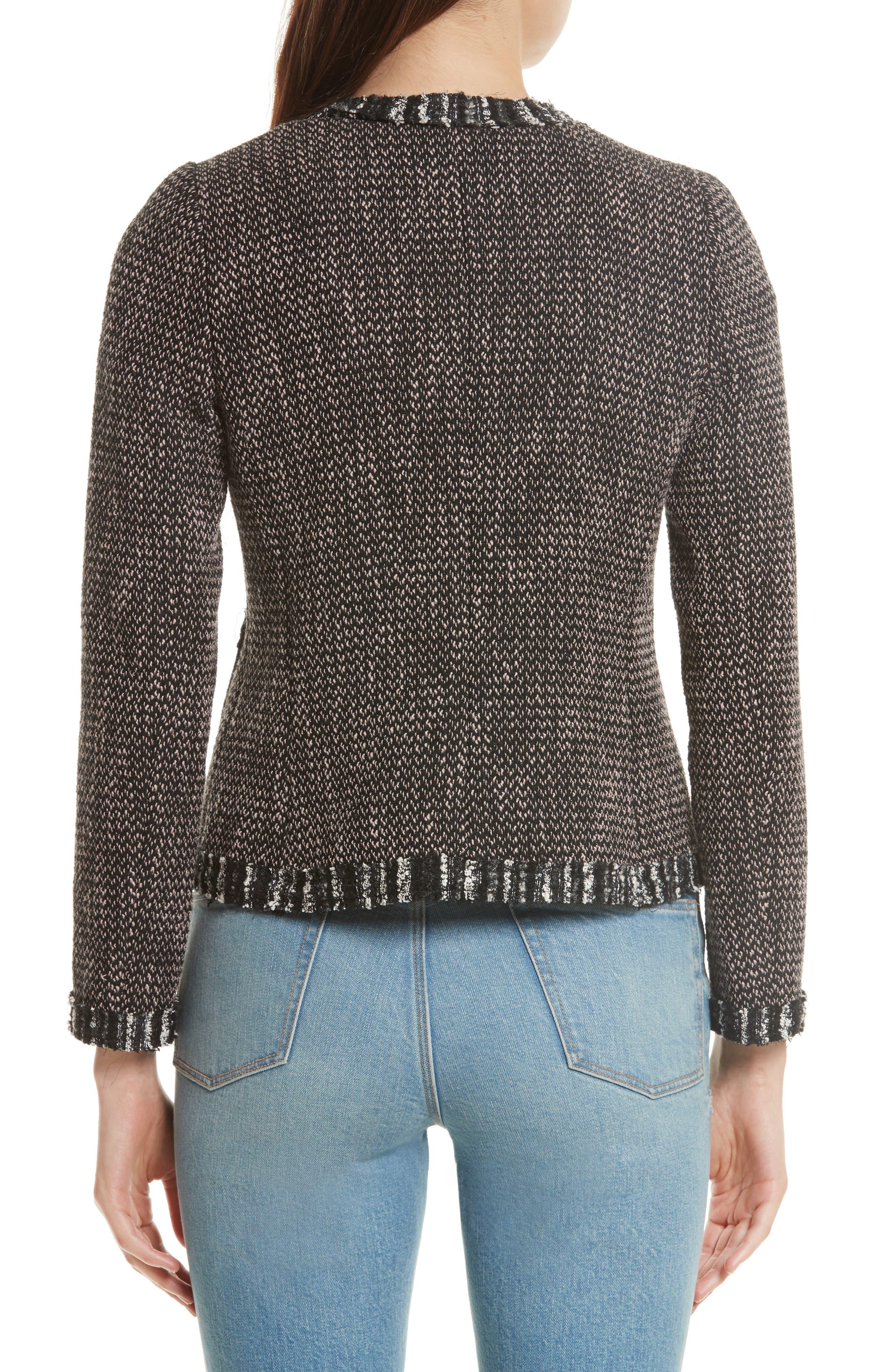 Alternate Image 2  - Rebecca Taylor Embellished Multi Tweed Jacket