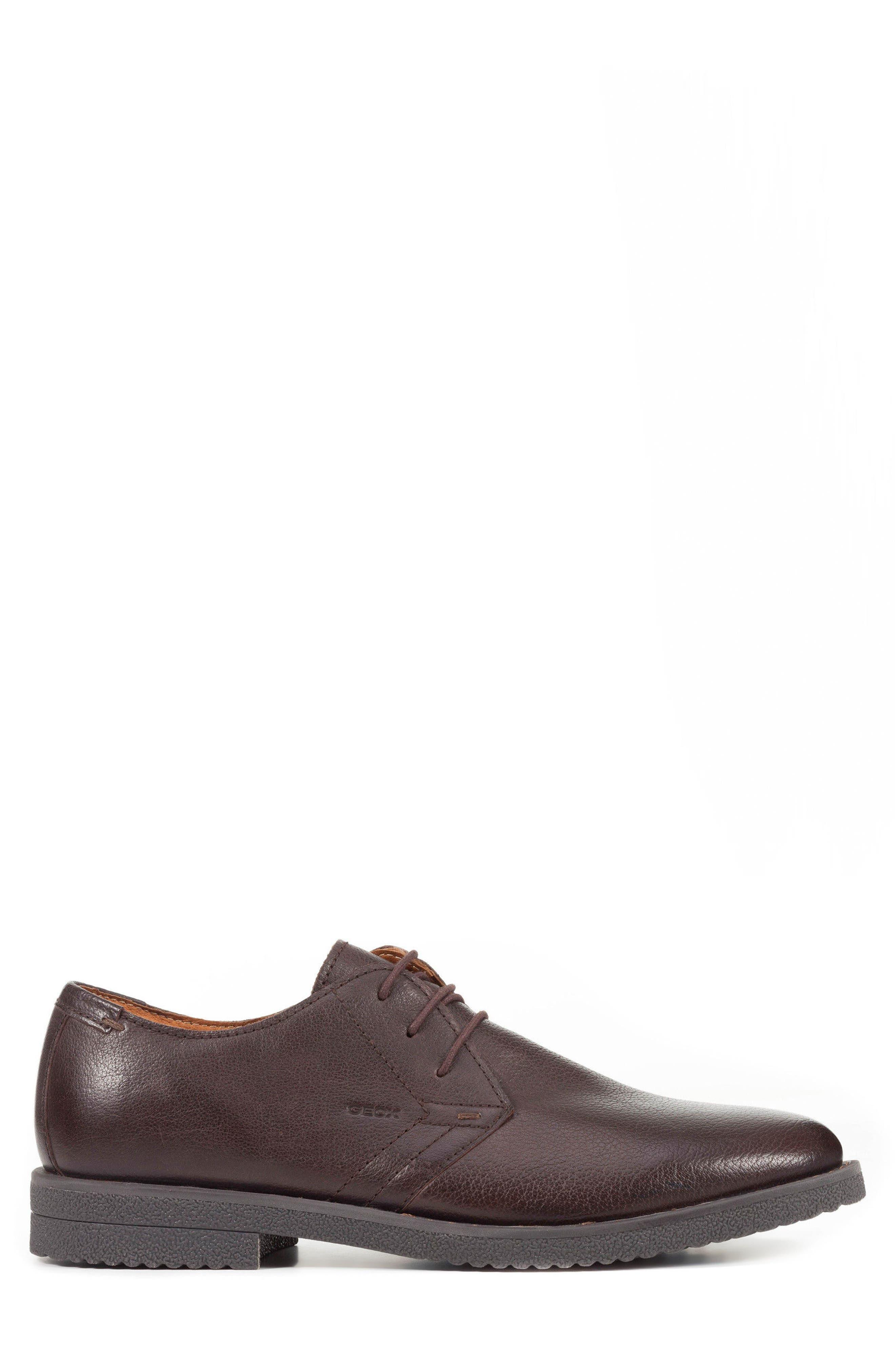 Alternate Image 3  - Geox Brandled Plain Toe Derby (Men)