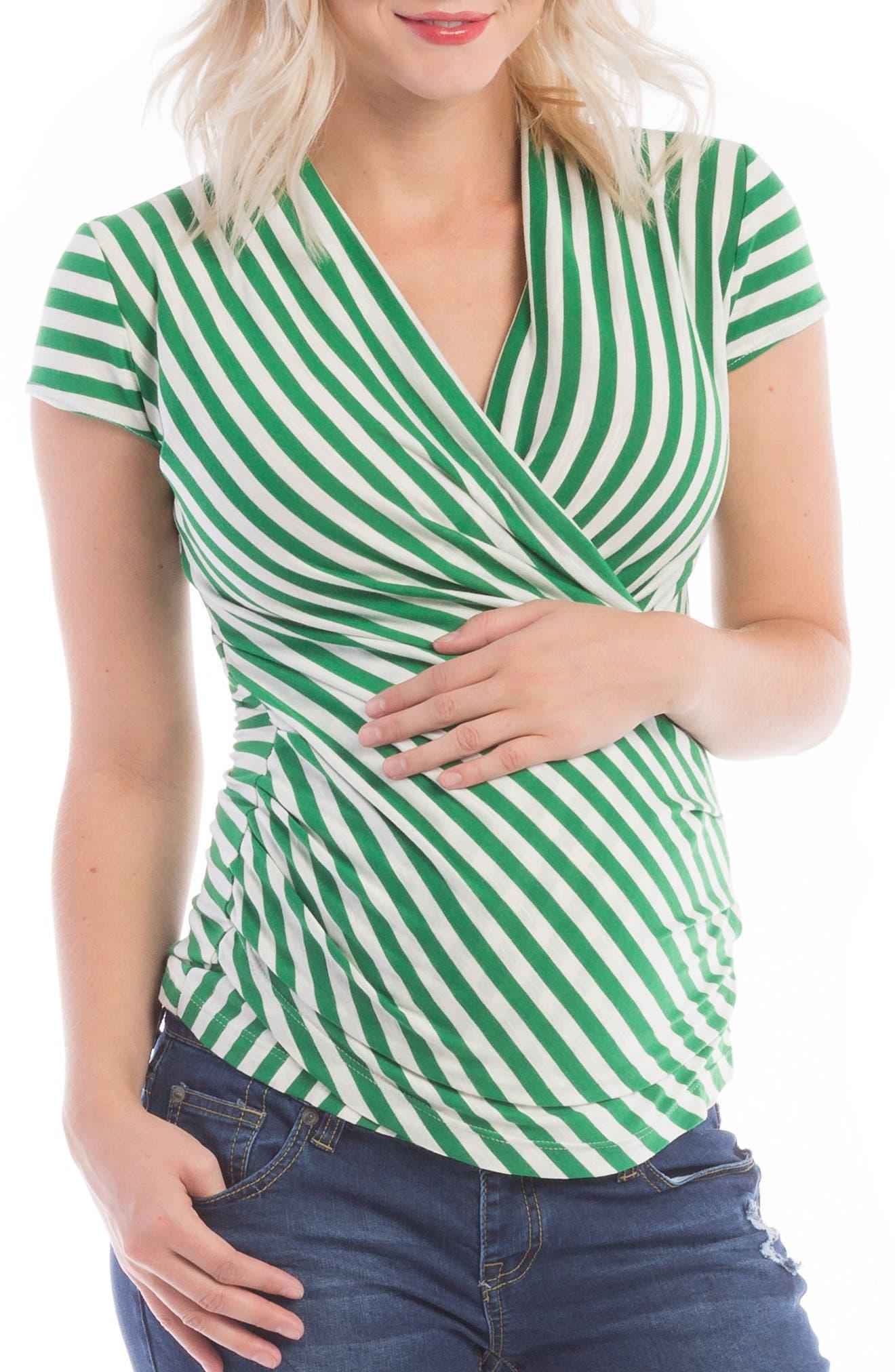 Main Image - Lilac Clothing Karen Maternity/Nursing Top