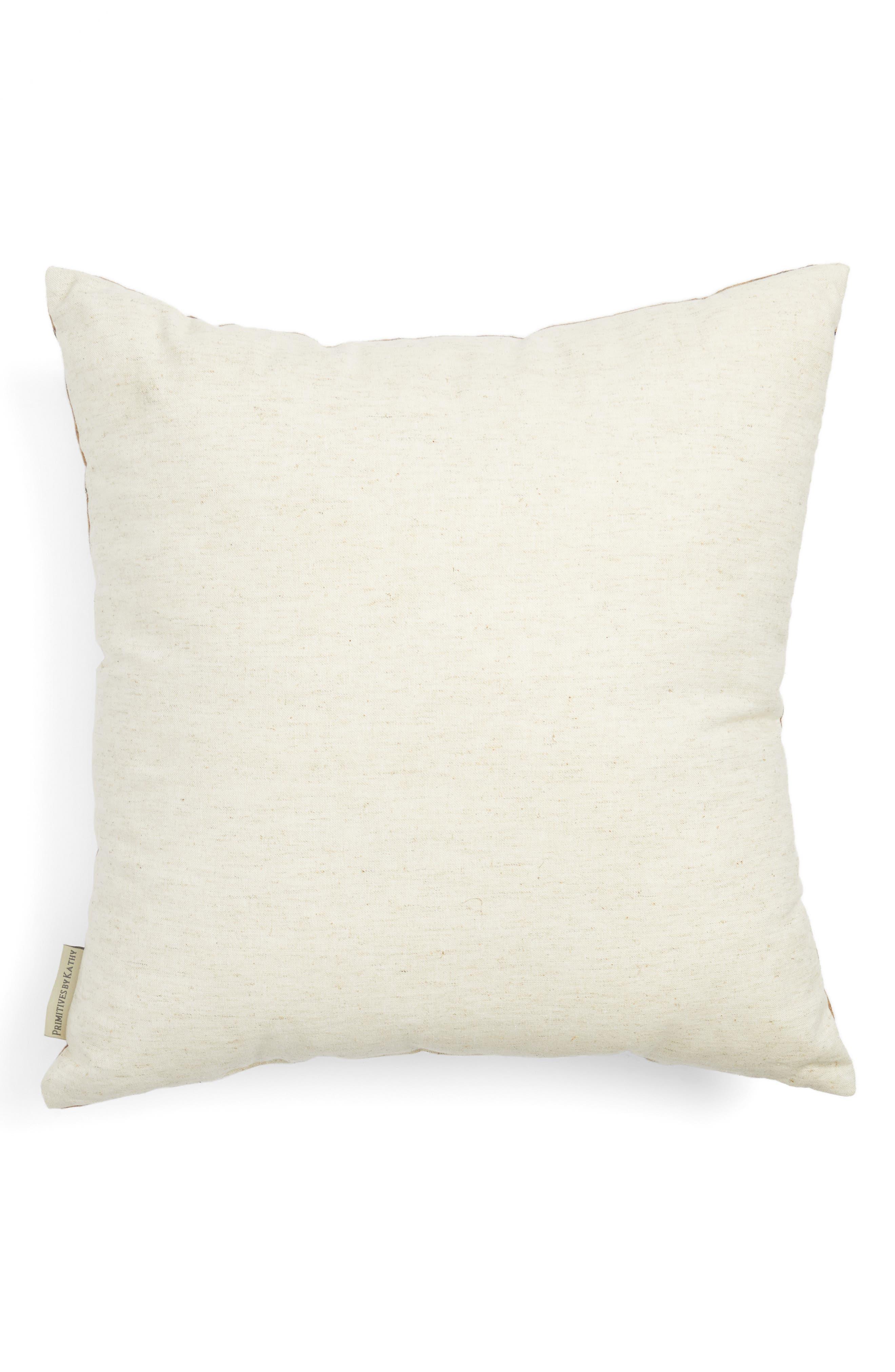 Silent Night Pillow,                             Alternate thumbnail 2, color,                             Ivory