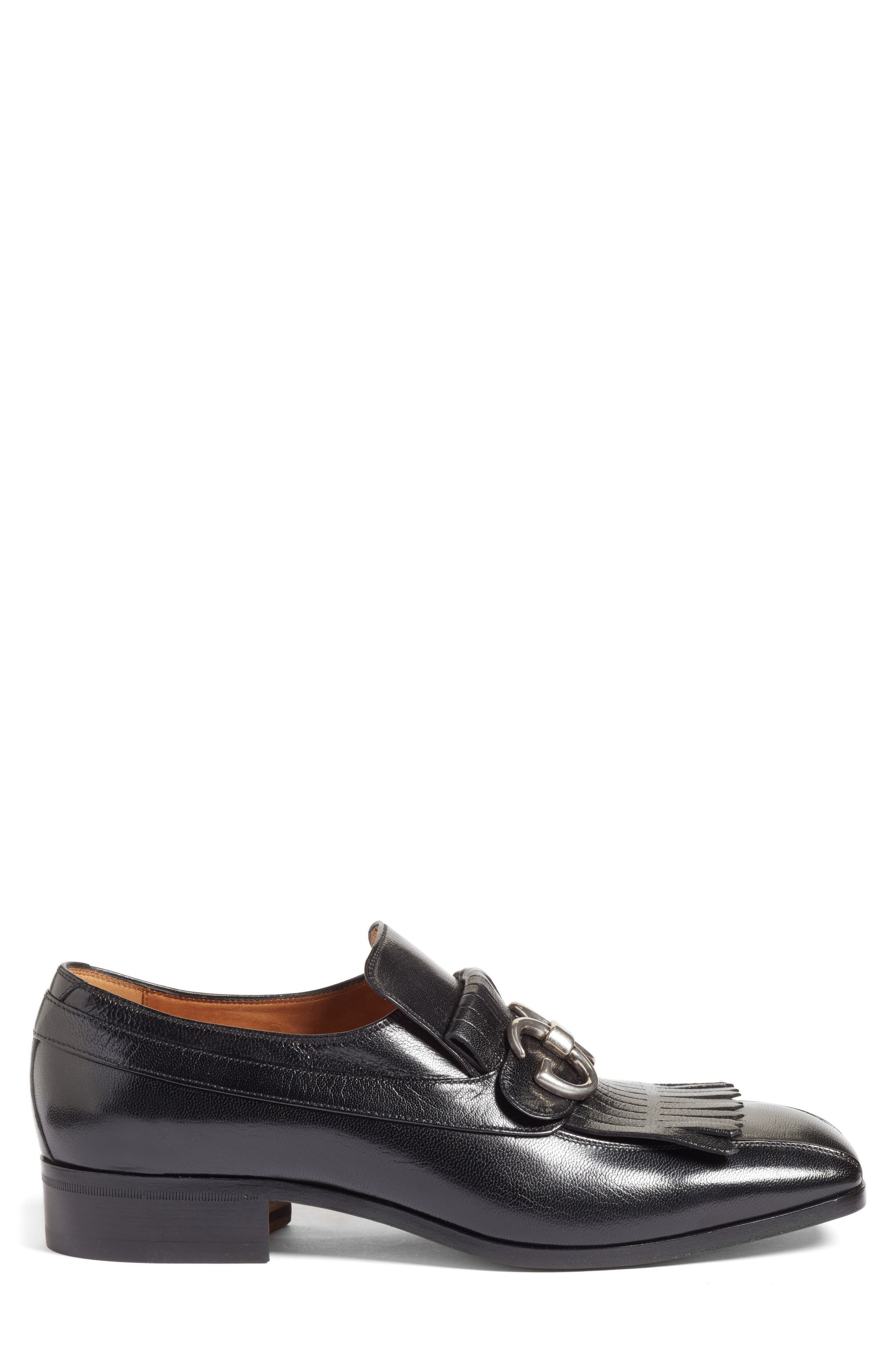 Alternate Image 3  - Gucci Novel Marmont Kiltie Loafer (Men)